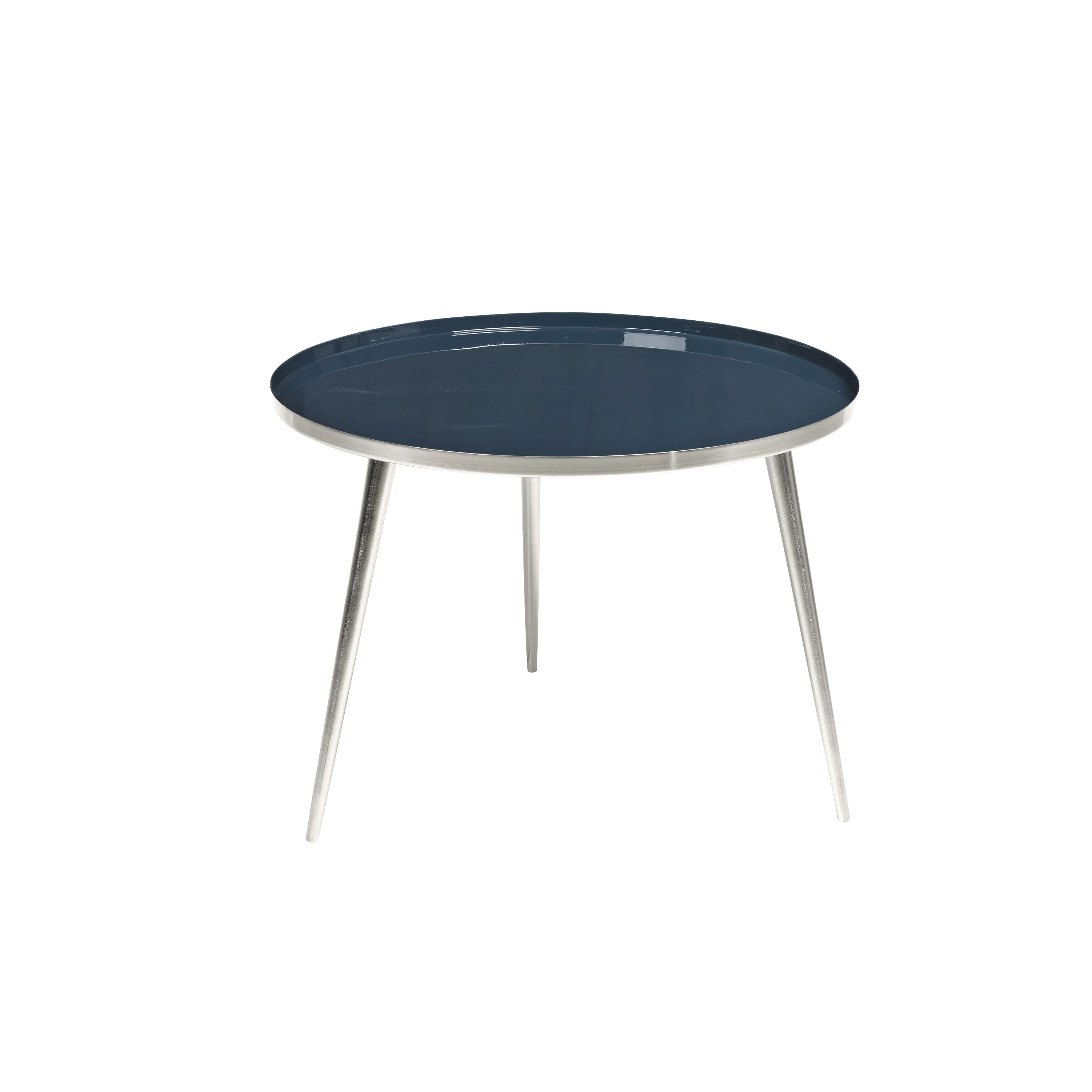 Most Popular The Bowery Table – Silver, Navy Blue, 2 Sizes – Accent Furniture With Bowery Ii Side Chairs (View 20 of 20)
