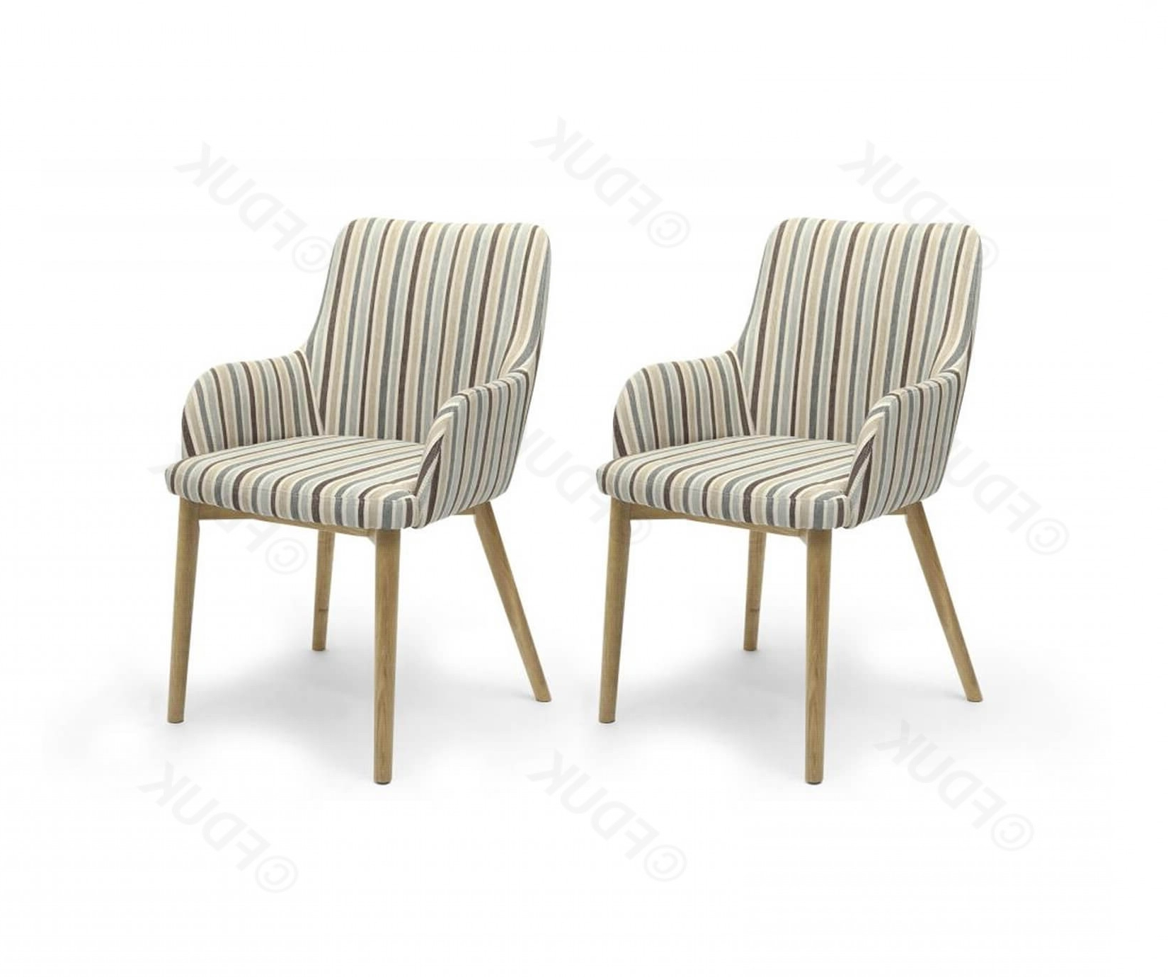 Most Recent Blue Stripe Dining Chairs Intended For Shankar Sidcup (View 14 of 20)