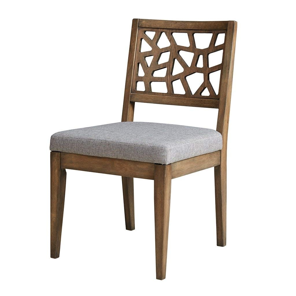Most Recent Carmel Oak Side Chairs Inside Amazon – Ink+Ivy Dining Chair (Set Of 2) Light Grey/see Below (View 17 of 20)