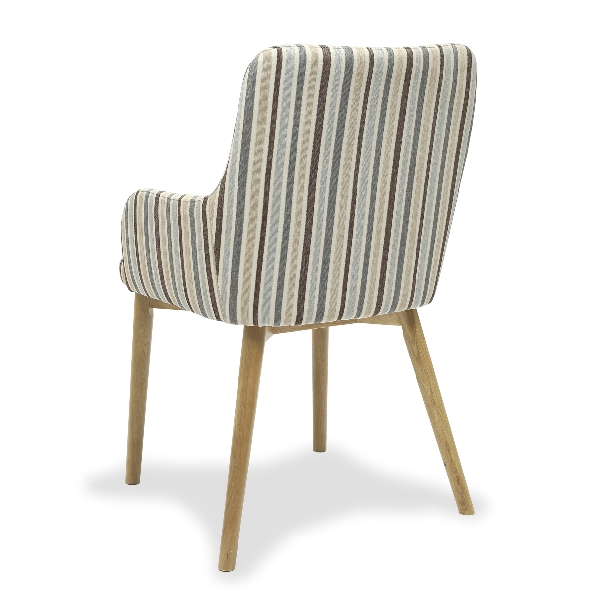 Most Recent Shankar Sidcup Duck Egg Blue Stripe Dining Chairs 086 04 11 05 01 Throughout Blue Stripe Dining Chairs (View 15 of 20)