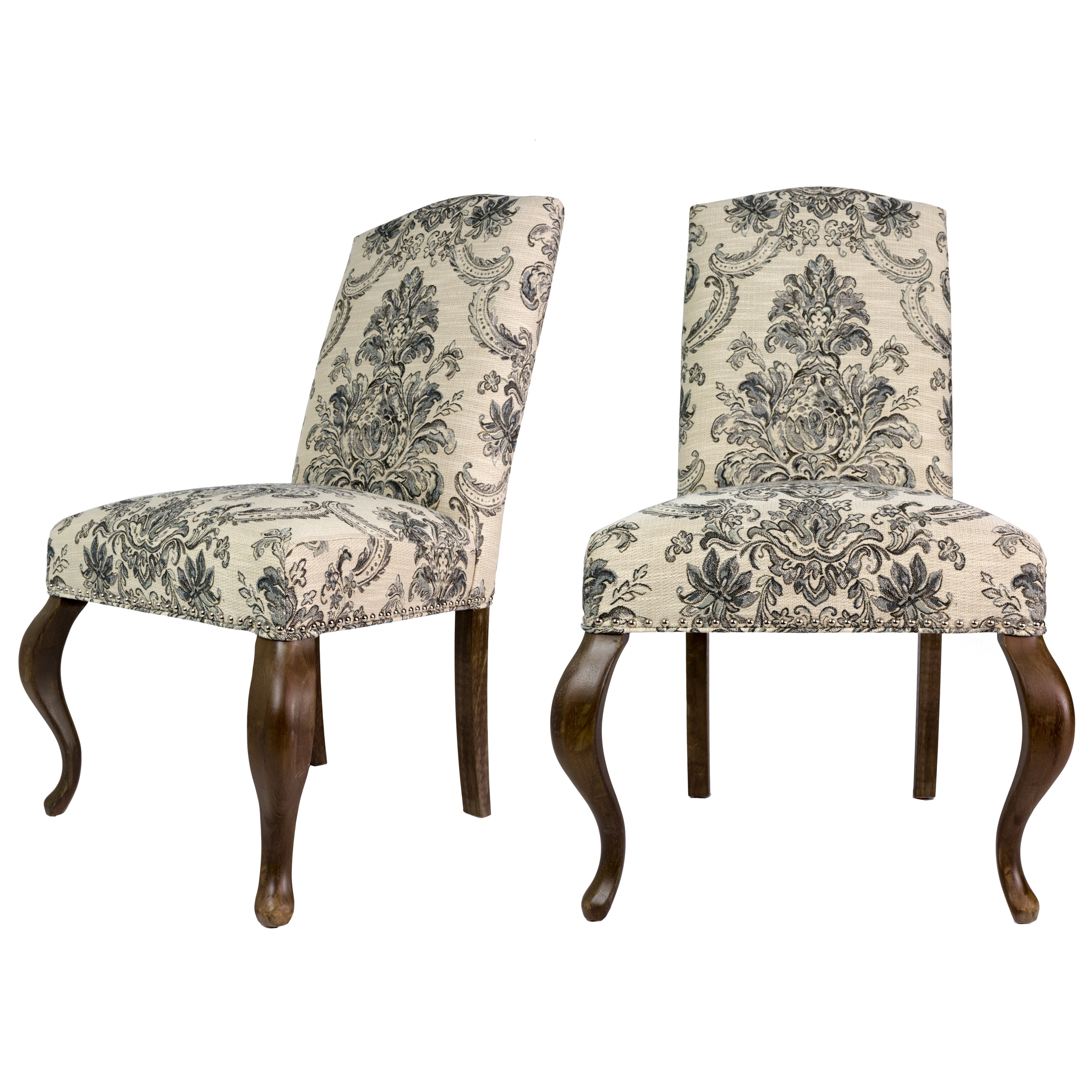 Most Recent Sole Designs Queen Ann Spring Upholstered Side Chair (View 9 of 20)