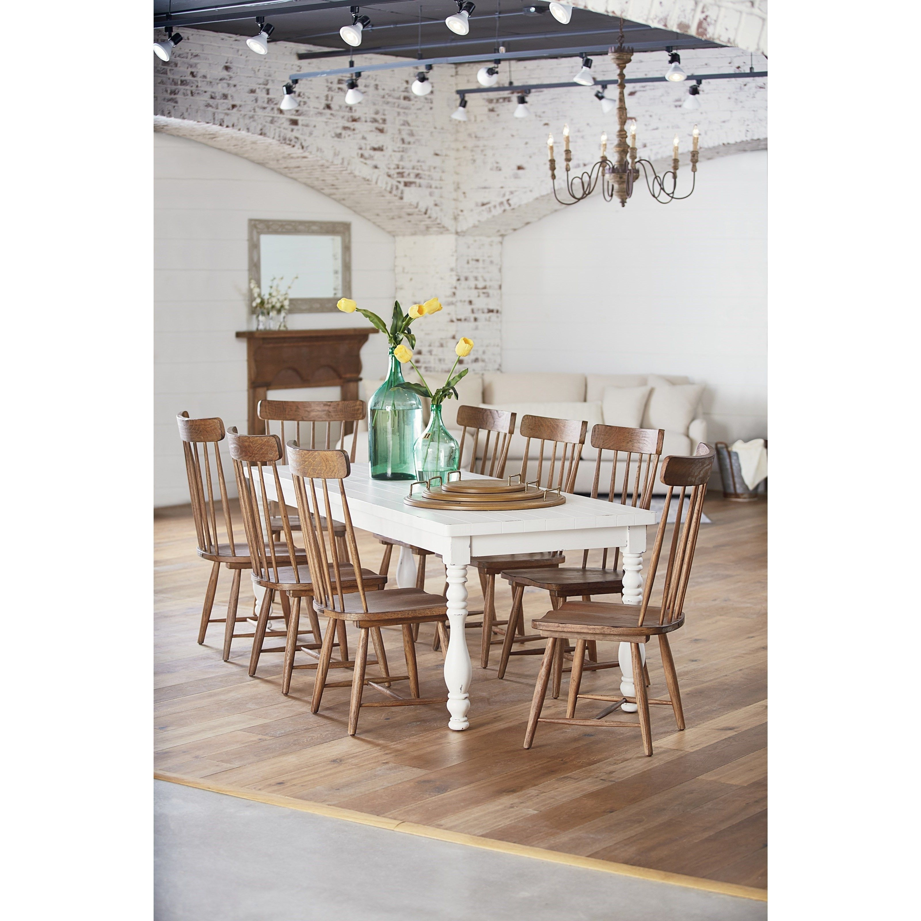 Most Recently Released 9 Piece Dining Setmagnolia Home (View 13 of 20)