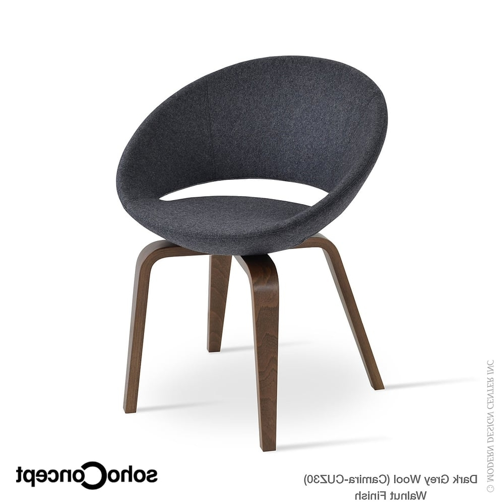 Most Recently Released Kent Dining Chairs For Crescent Plywood Dining Chair Kent Genuine Leathersoho Concept (View 11 of 20)