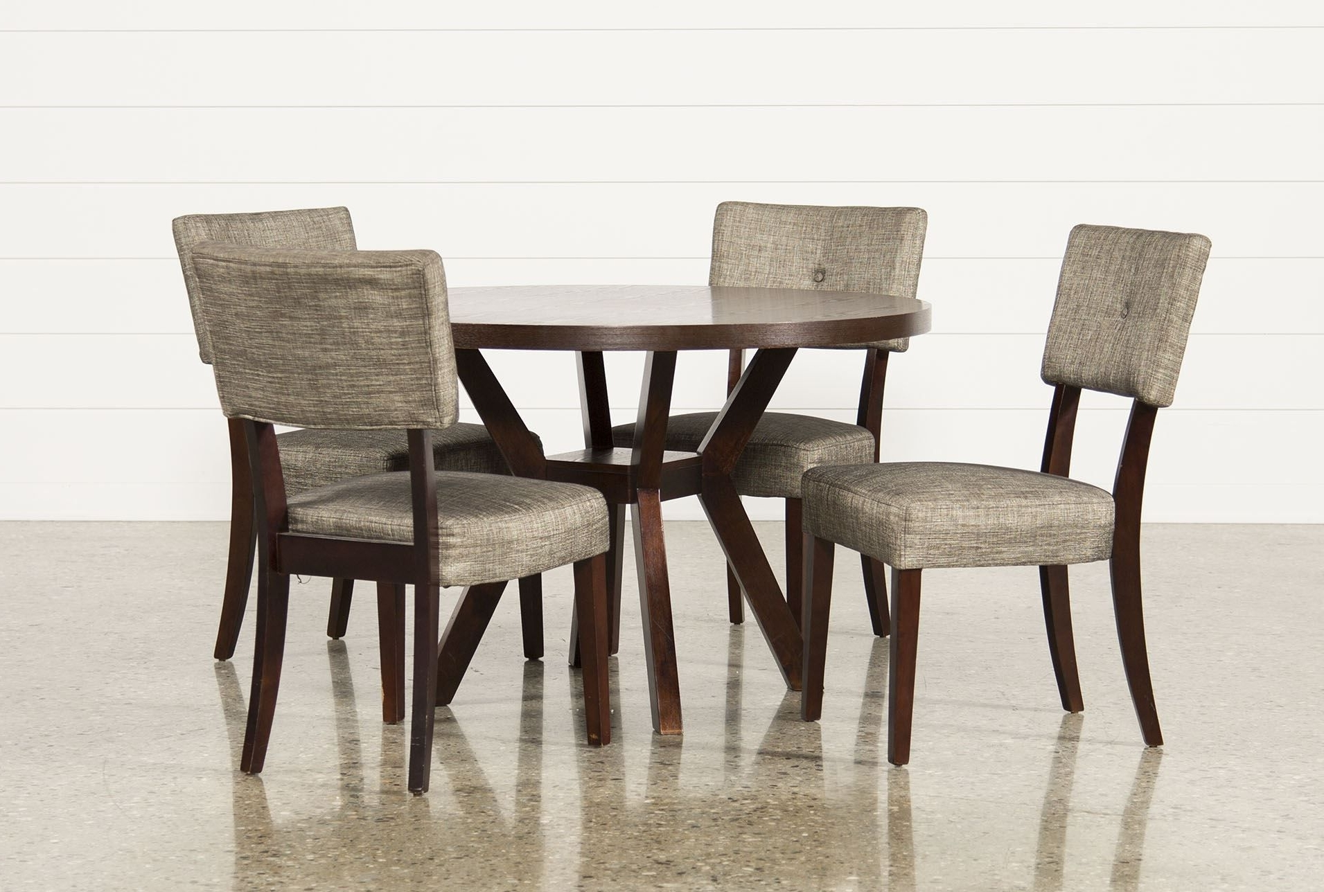 Most Recently Released Macie 5 Piece Round Dining Set – Living Spaces (View 16 of 20)