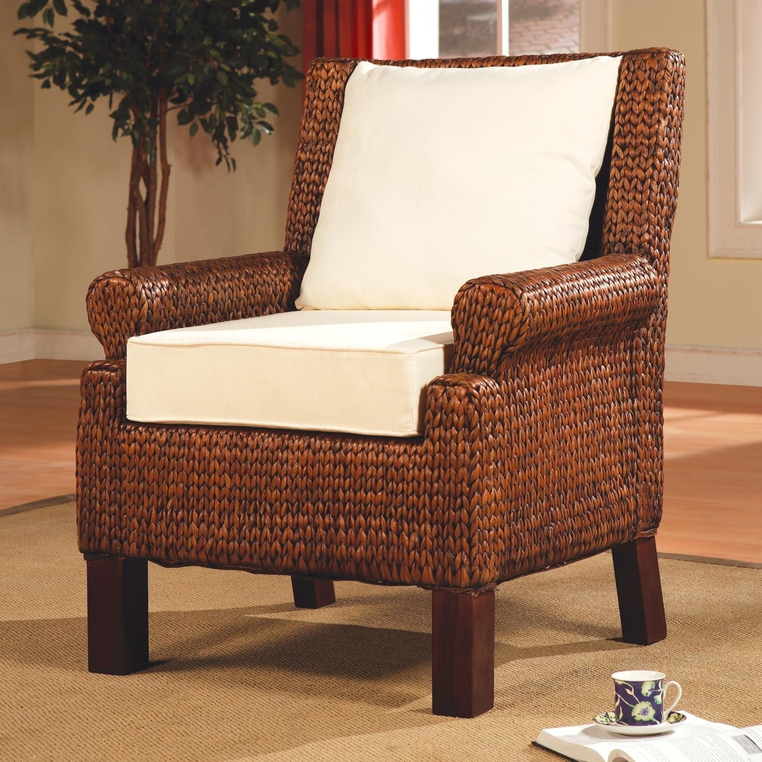 Most Up To Date Accent Seating Banana Leaf Woven Chair Lowest Price – Sofa With Banana Leaf Chairs With Cushion (View 15 of 20)