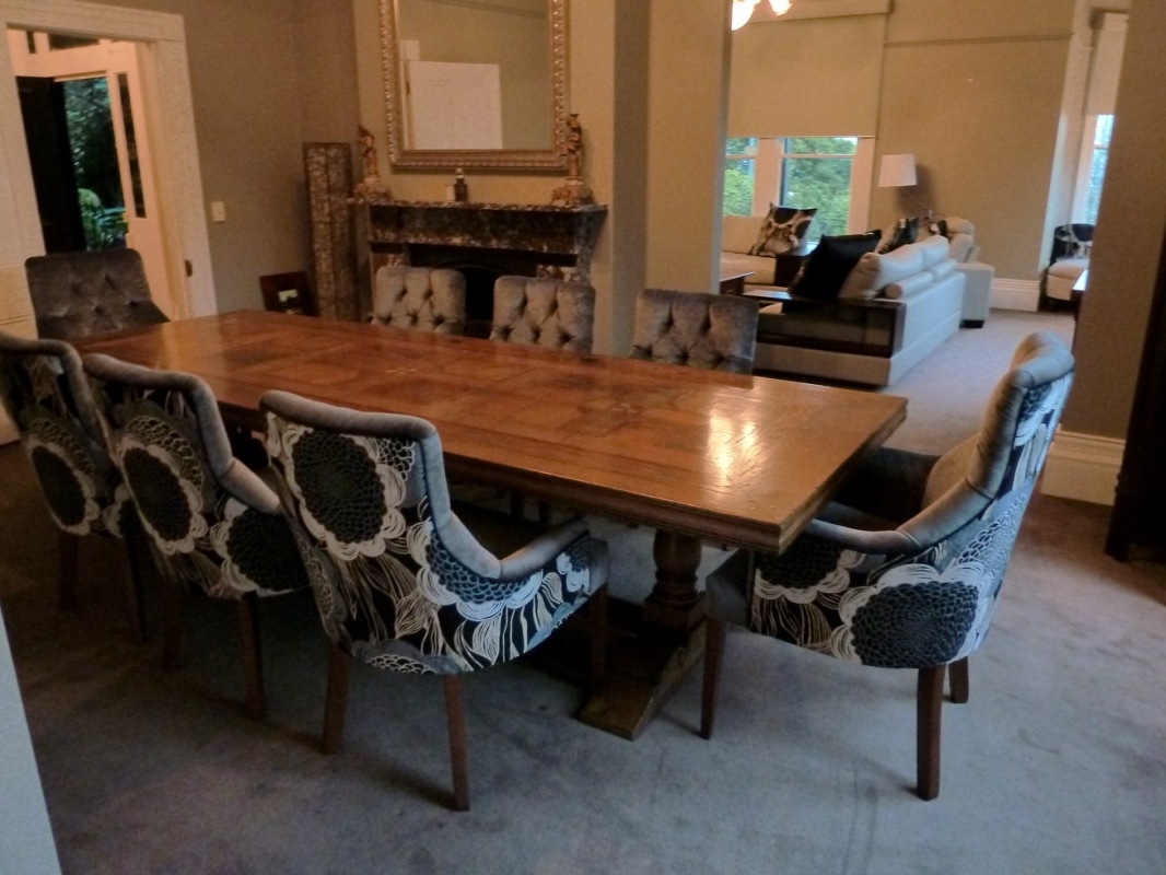 Most Up To Date Custom Upholstered Dining Chairs Stylish Interesting Parsons Skirted Pertaining To Grady Side Chairs (View 12 of 20)