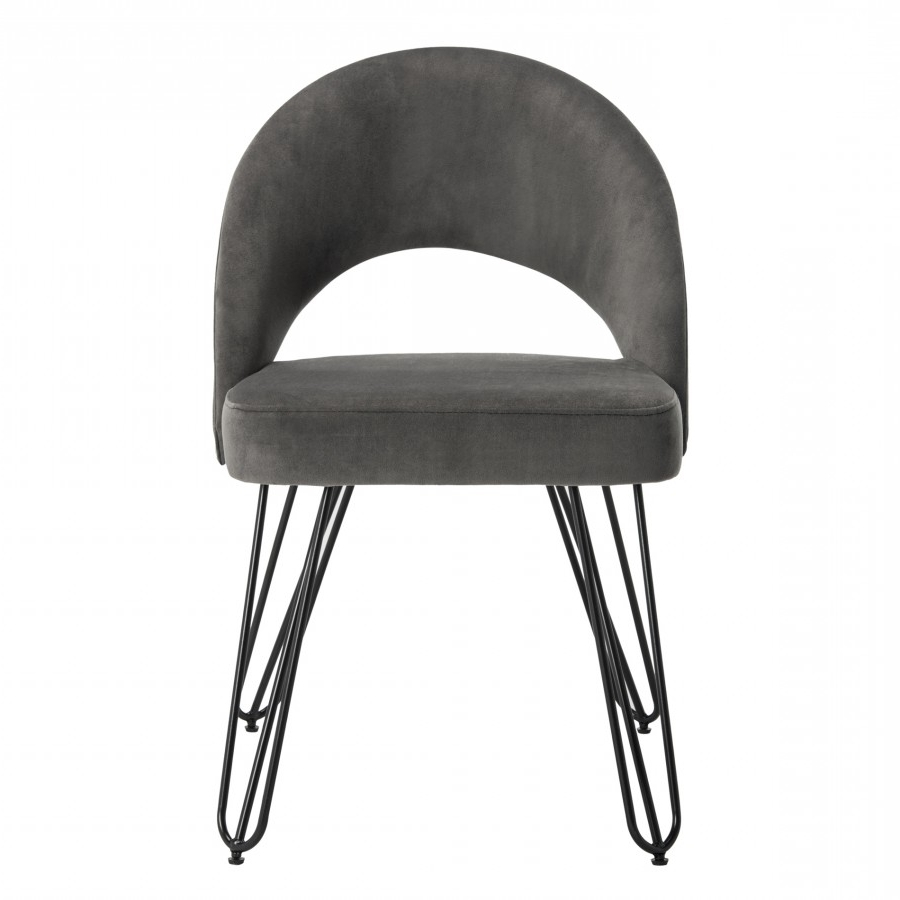 Most Up To Date Decor Market – Safavieh Jora Velvet Retro Side Chairs (set Of Two) With Regard To Caira Black Upholstered Side Chairs (View 18 of 20)