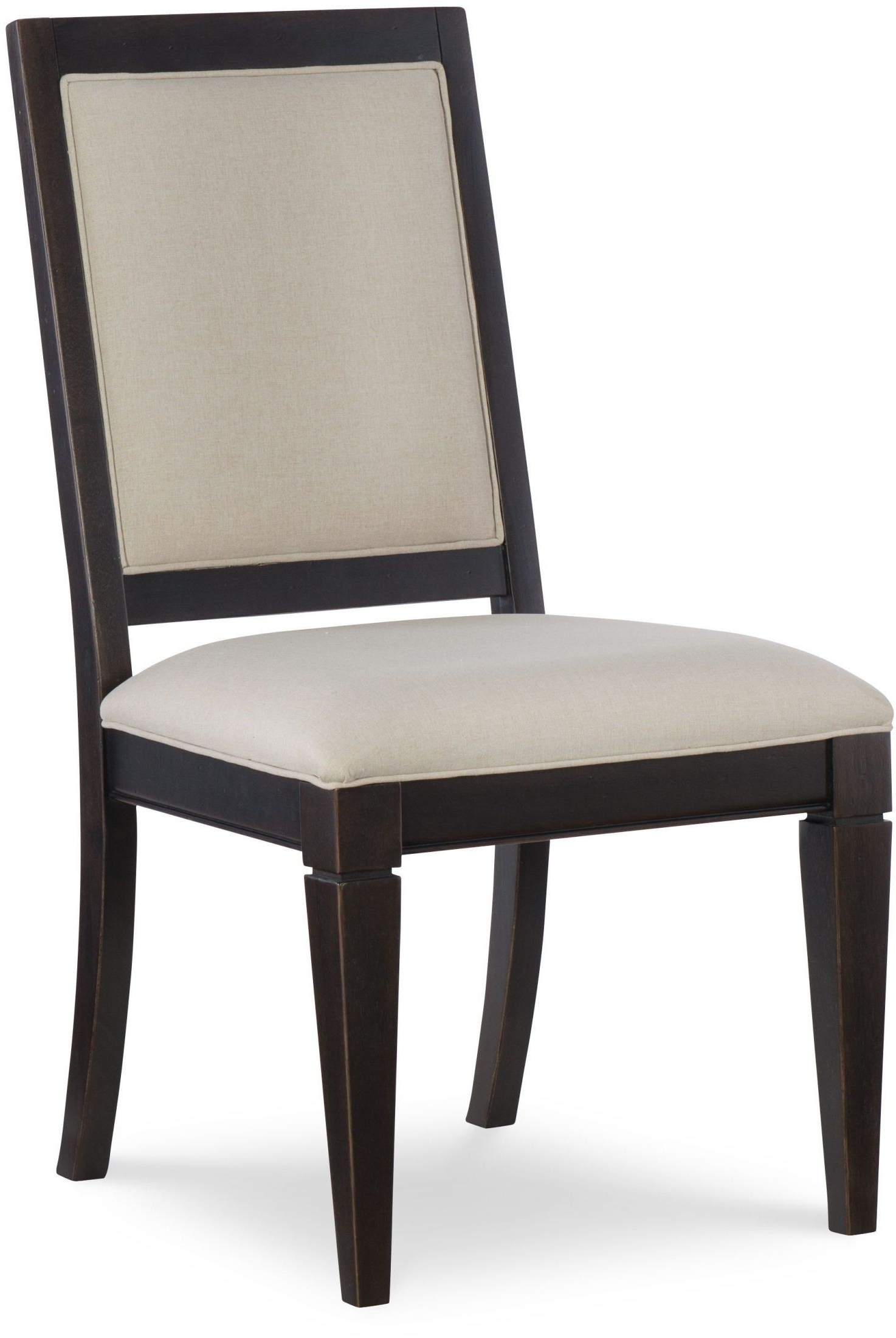 Most Up To Date Everyday Peppercorn Upholstered Back Side Chair Set Of 2Rachael Within Candice Ii Slat Back Side Chairs (View 16 of 20)