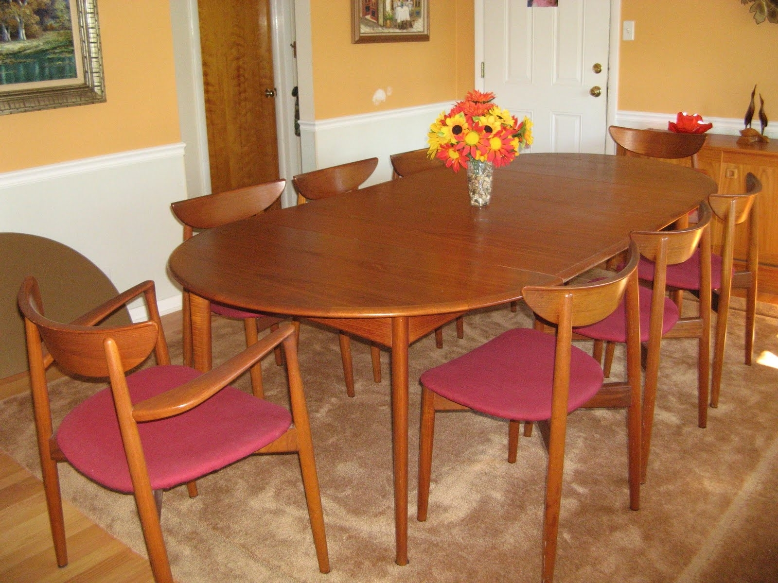 Natural Brown Teak Wood Leather Dining Chairs Intended For Best And Newest Perfect Summer With Teak Patio Dining Set — Teak Furnituresteak (Gallery 19 of 20)