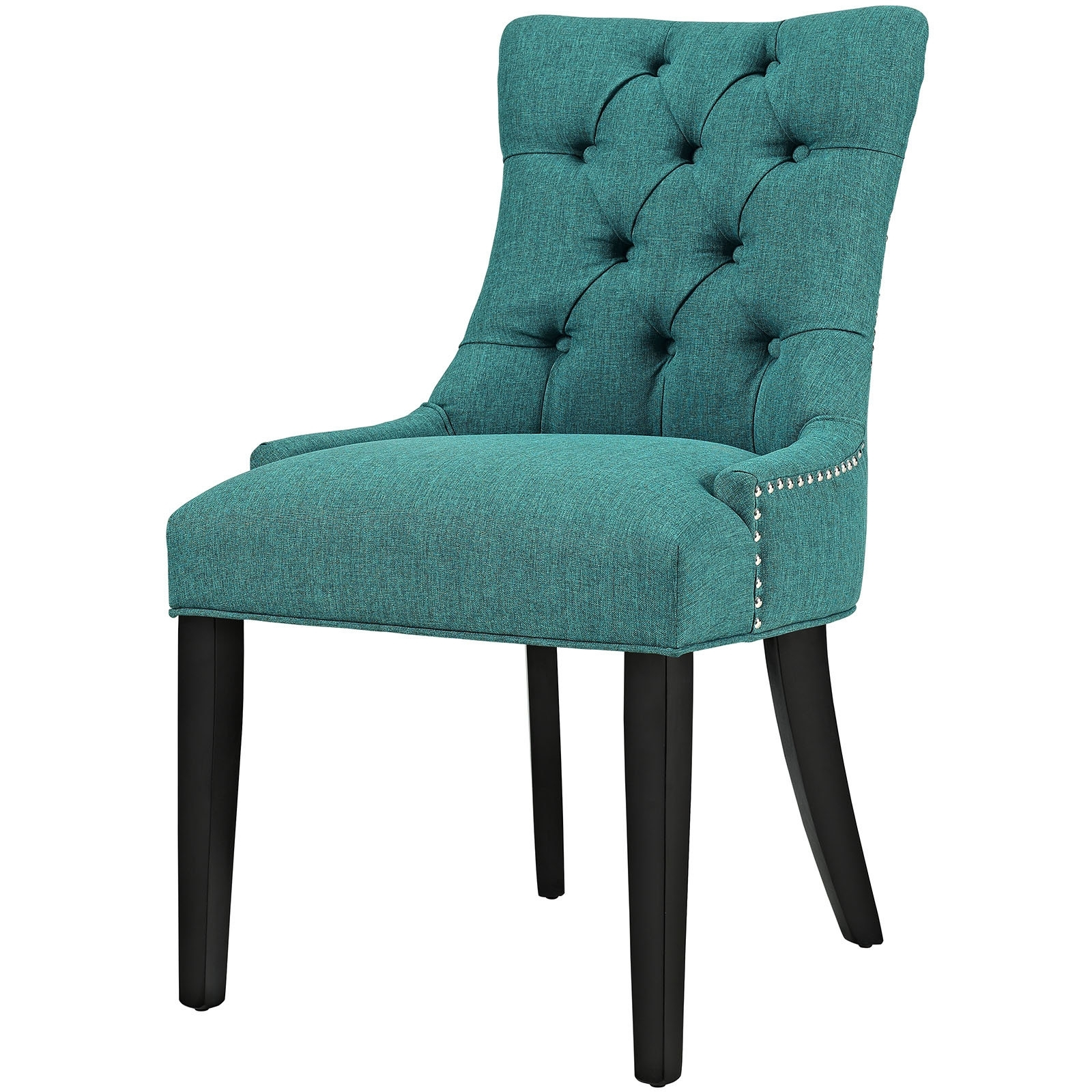 Nautical Blue Side Chairs Throughout Well Known Dark Teal Dining Chair (Gallery 16 of 20)