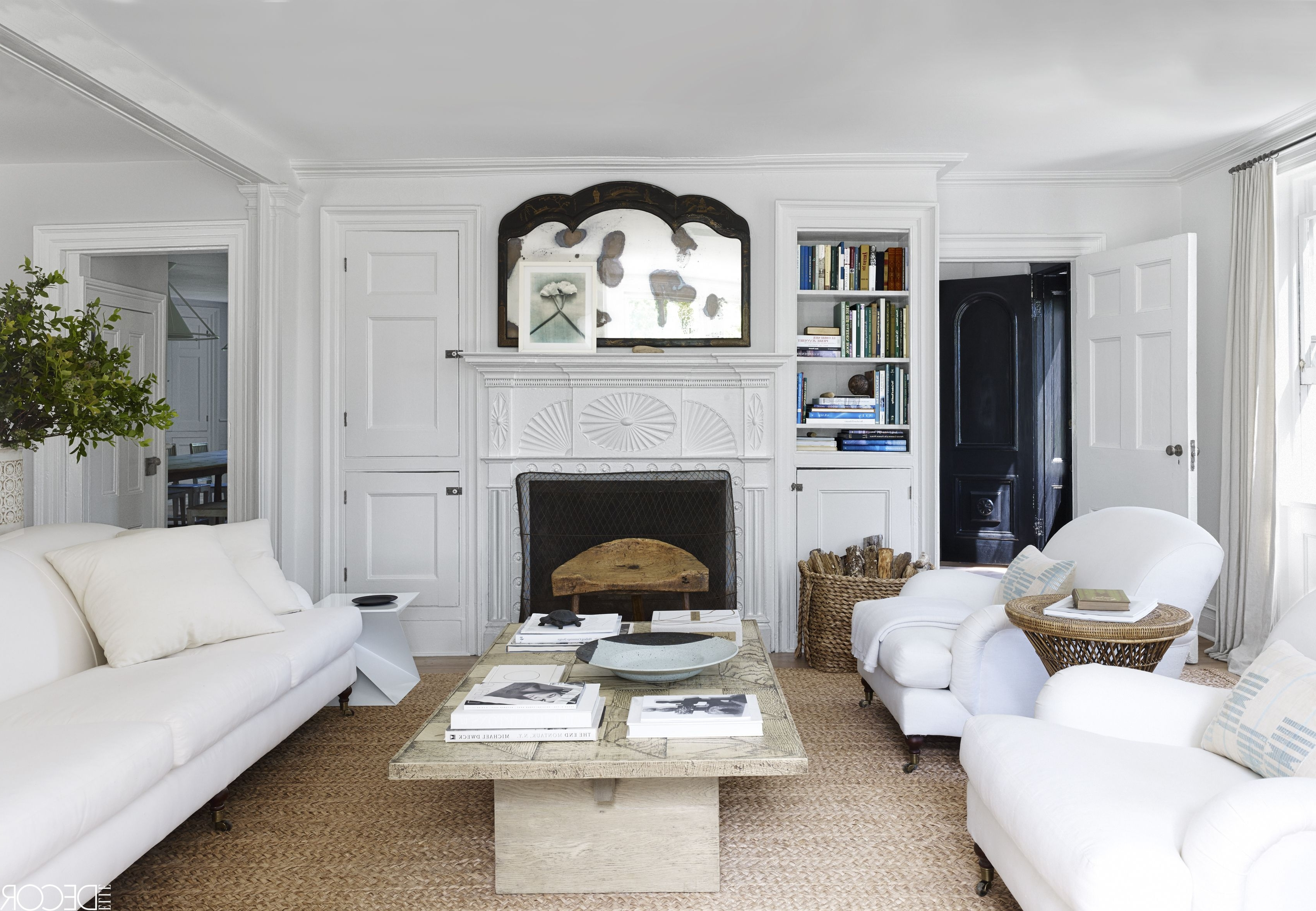 Newest 24 Best White Sofa Ideas – Living Room Decorating Ideas For White Sofas Inside Laurent Host Arm Chairs (View 18 of 20)