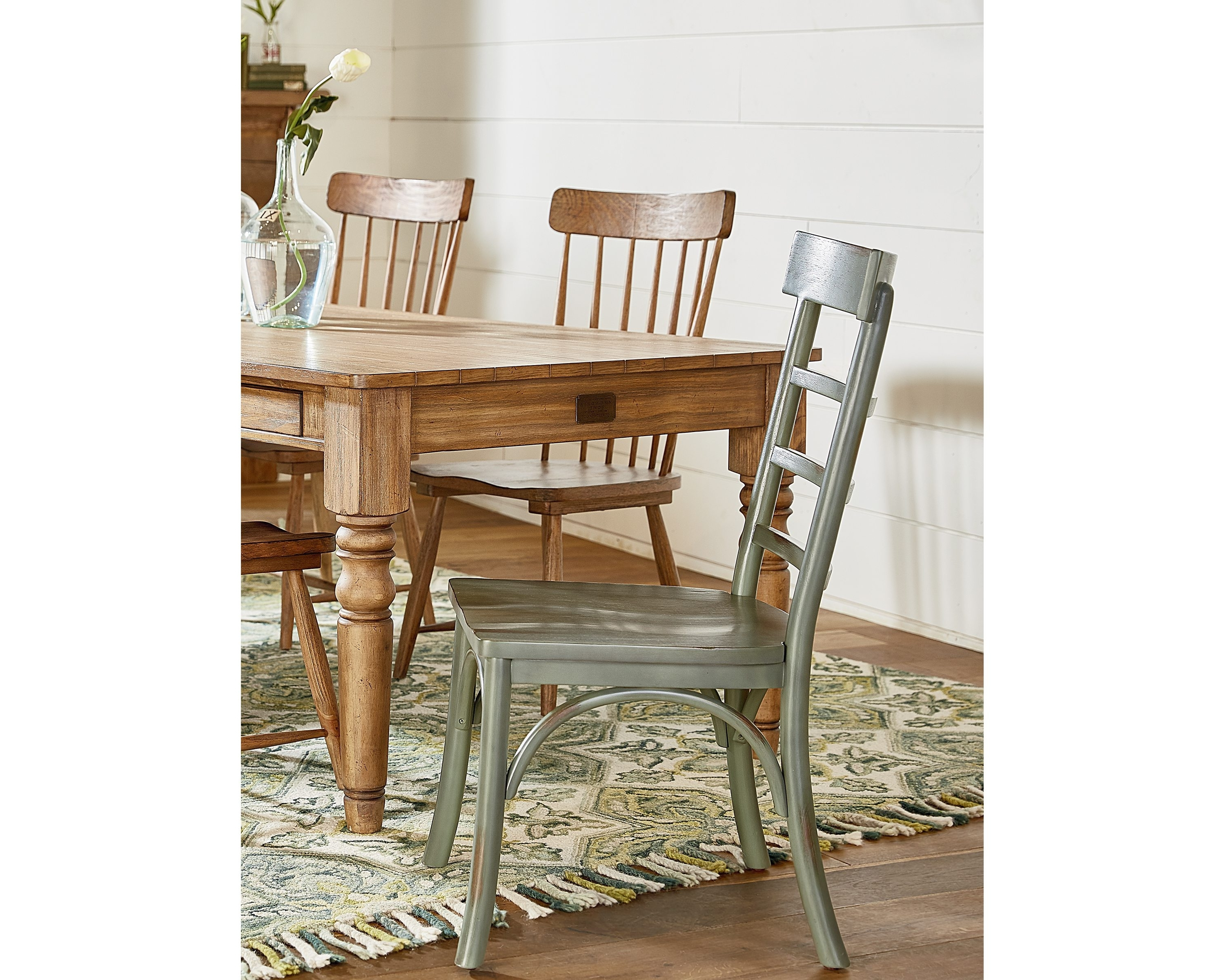 Newest Magnolia Home Harper Patina Side Chairs Throughout Harper Side Chair – Magnolia Home (View 3 of 20)