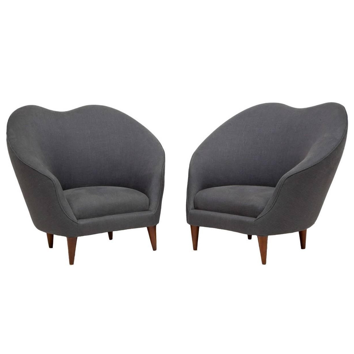 Newest Munari Chairs – Caira Mandaglio With Regard To Caira Black Upholstered Side Chairs (View 17 of 20)