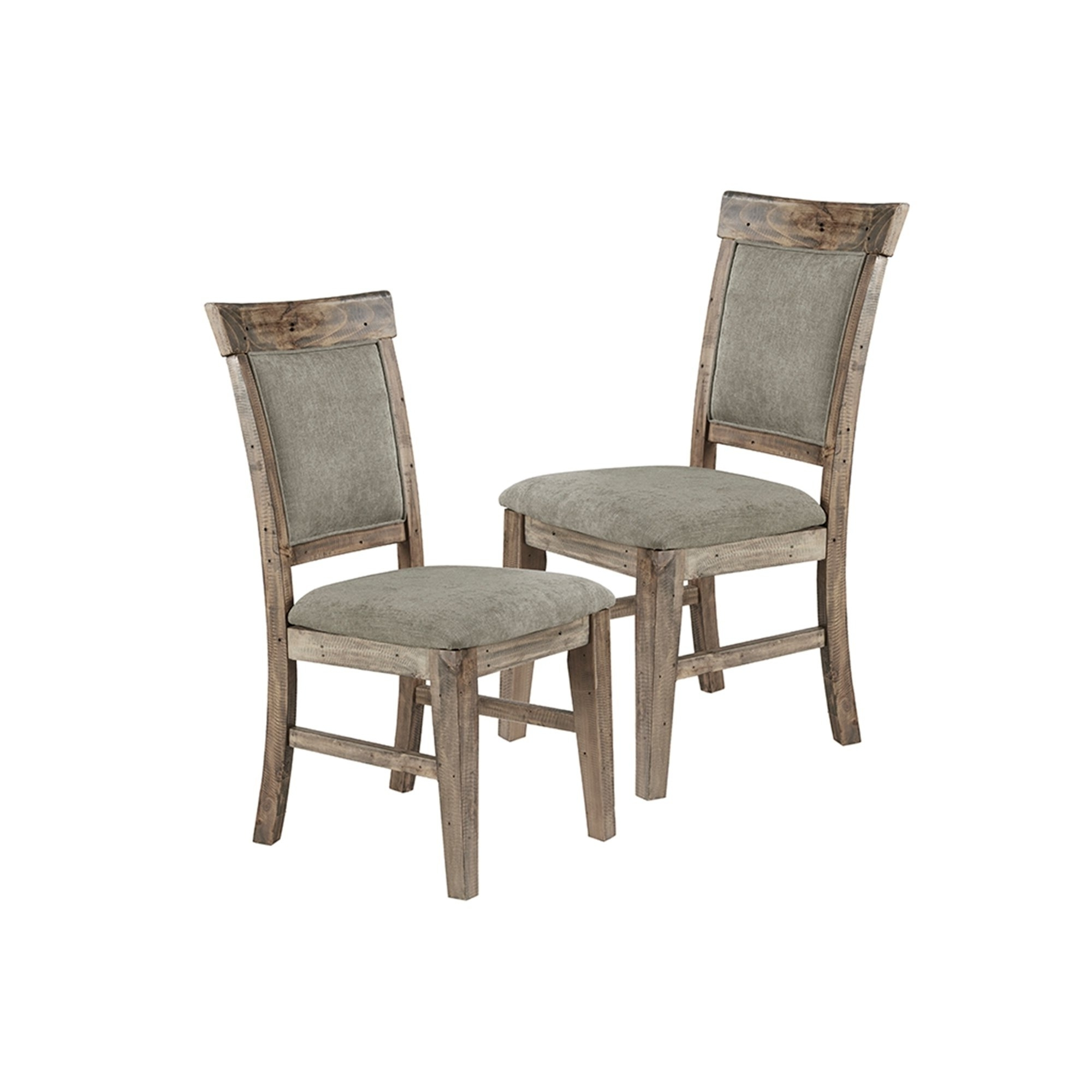 Oliver Side Chairs Pertaining To Most Popular Shop Ink Ivy Oliver Natural/grey Dining Side Chair(set Of 2pcs (View 5 of 20)