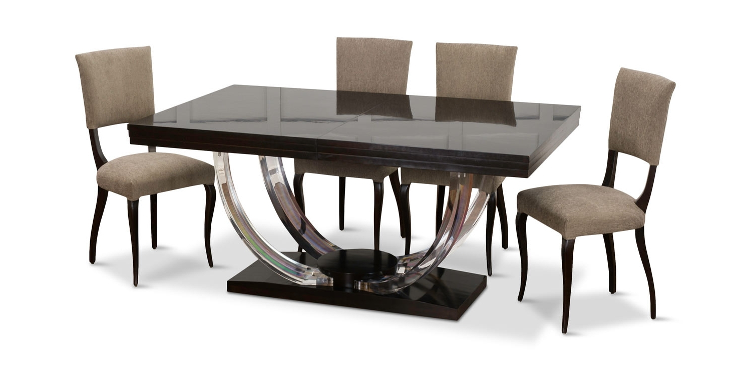 Omni Side Chairs With Regard To Most Recently Released Omni 5 Piece Dining Setcentury (Gallery 18 of 20)