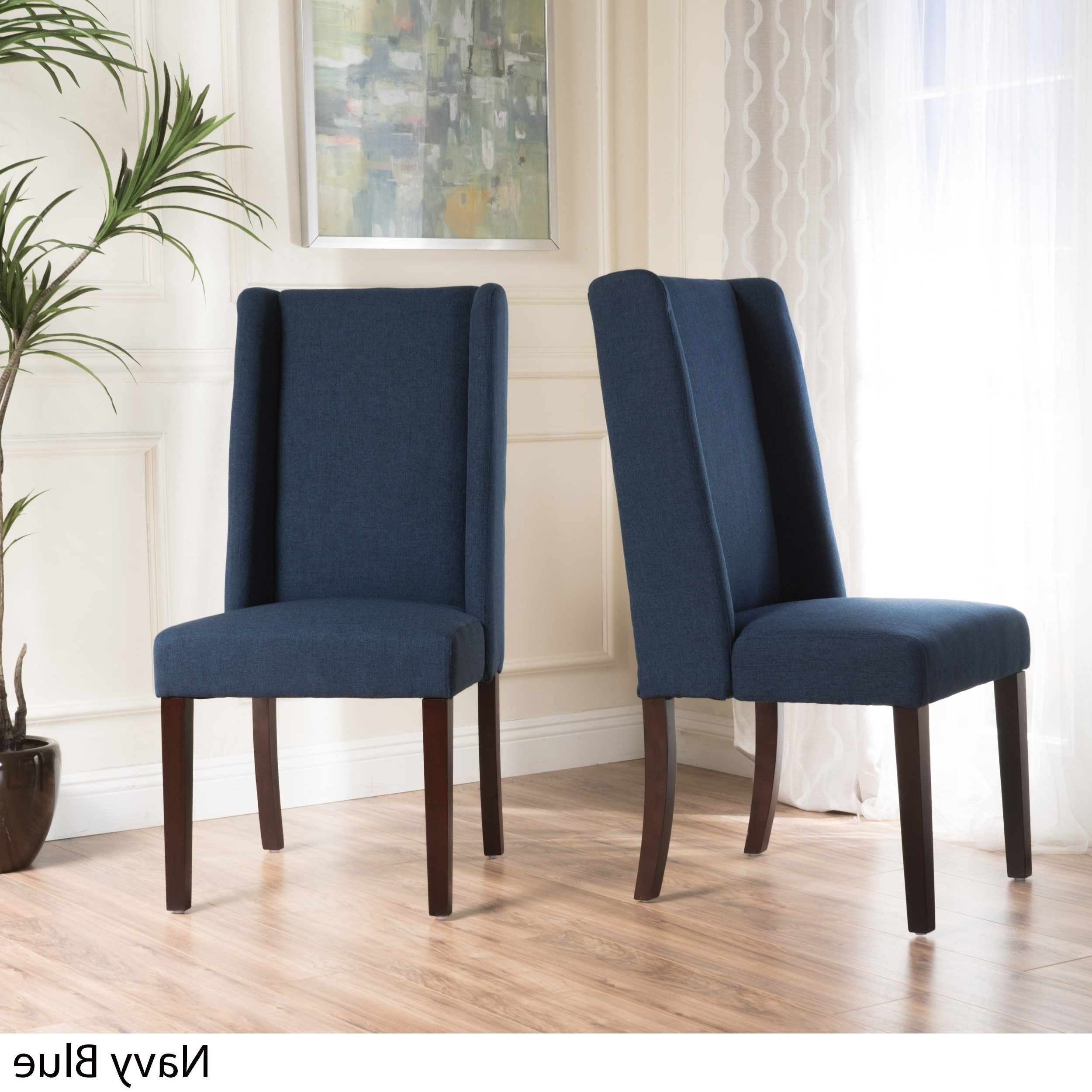 Our Best Living Inside Nautical Blue Side Chairs (Gallery 6 of 20)