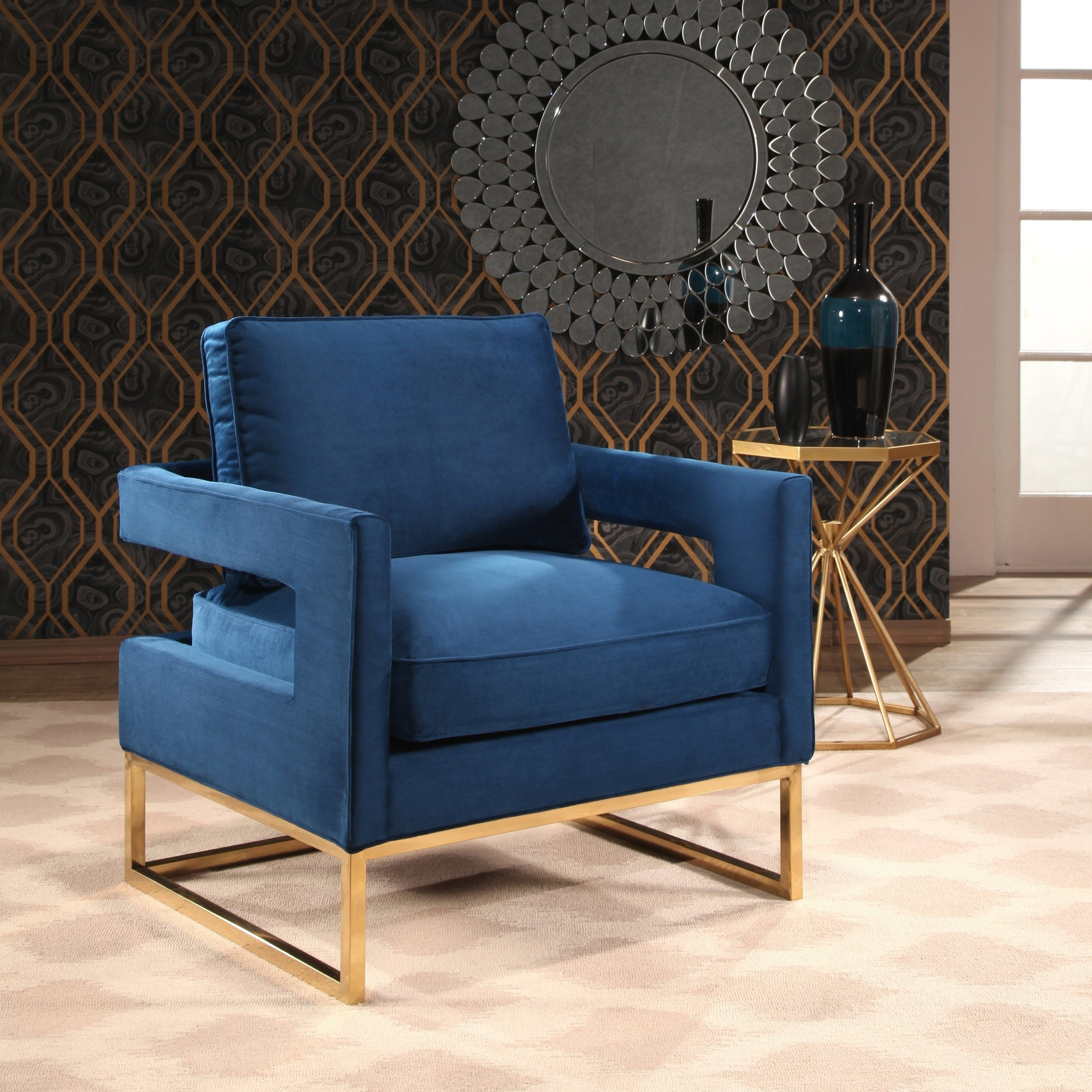 Our Best Living Throughout Current Nautical Blue Side Chairs (View 8 of 20)