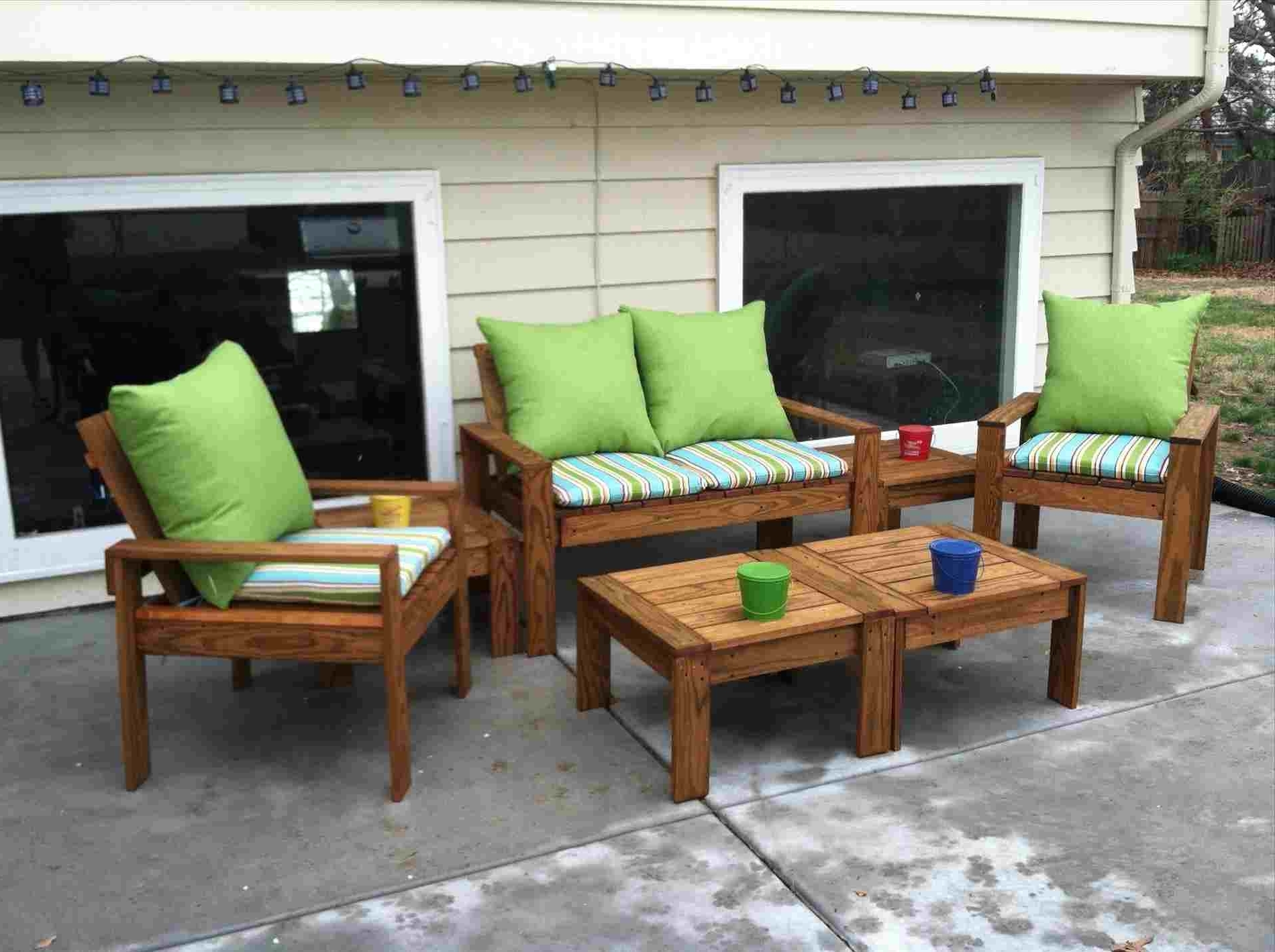 Outdoor Diy Patio Table And Chairs Rhinstrucscom Ana White Simple Inside Famous Green Cedar Dining Chairs (View 17 of 20)