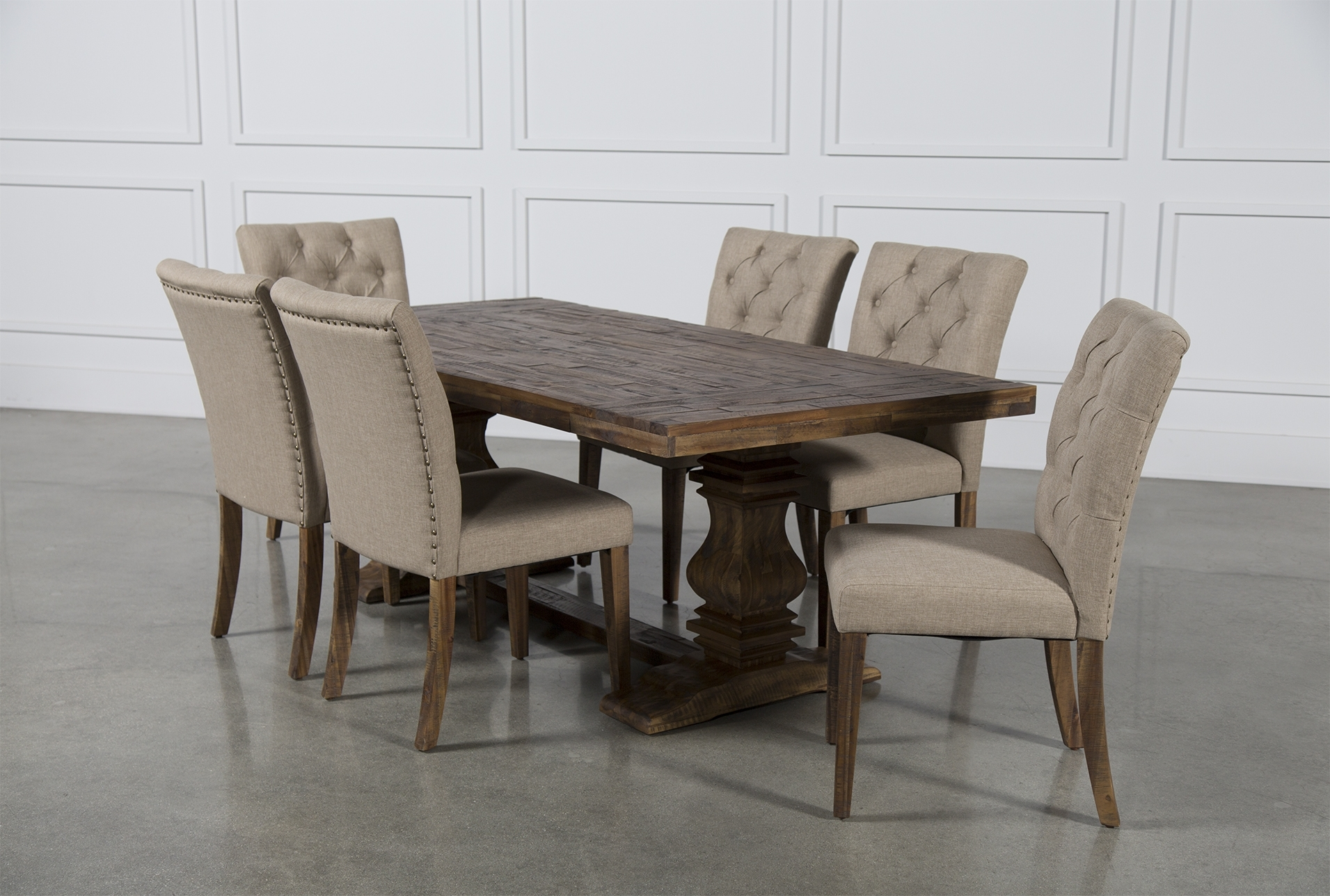 Partridge 7 Piece Dining Set (View 10 of 20)