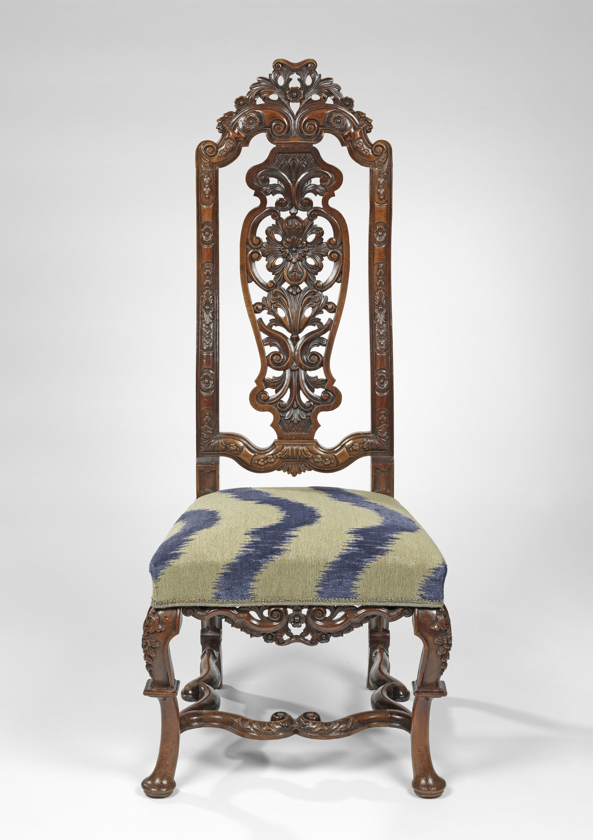 Partridge Side Chairs Pertaining To Most Up To Date A Set Of Twelve Queen Anne Walnut Side Chairs Anglo Dutch (C. 1715 (Gallery 9 of 20)