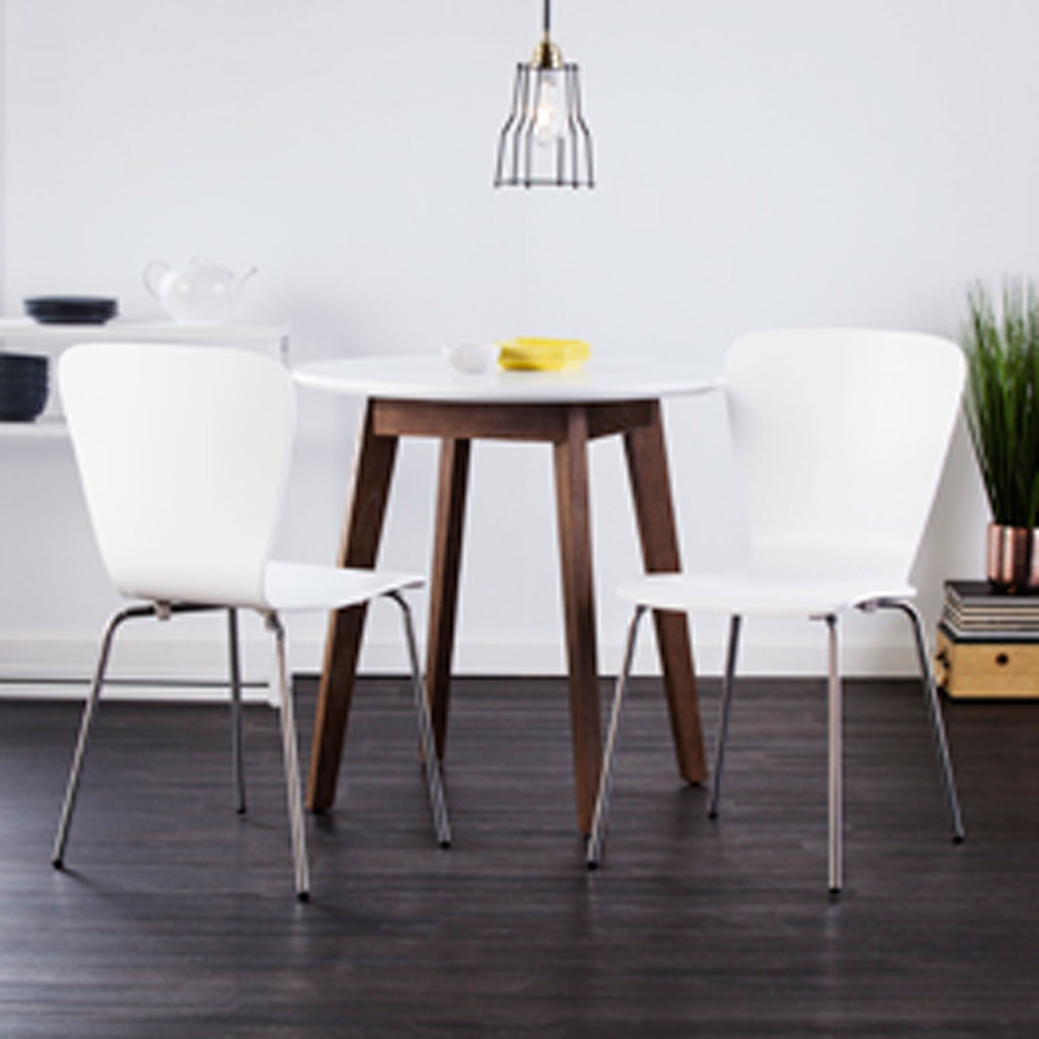 Pearson White Slipcovered Side Chairs Inside Widely Used Holly & Martin Cadby Bentwood Side Chairs White, Set Of 2 Bc (View 10 of 20)