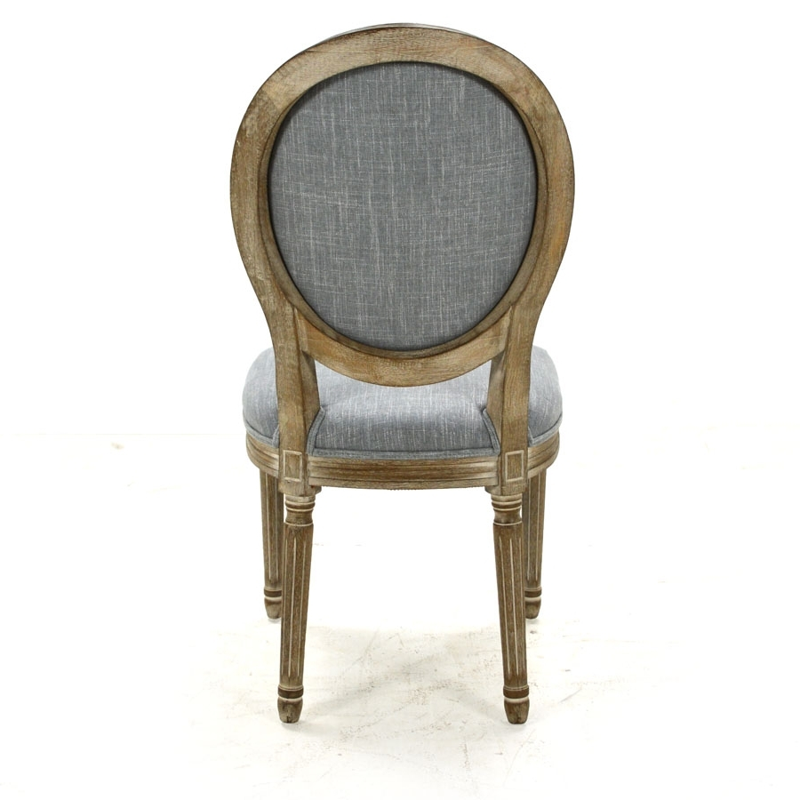 Perla Dining Side Chair, Pewter Flax – Home Source Furniture Throughout 2018 Perla Side Chairs (View 11 of 20)