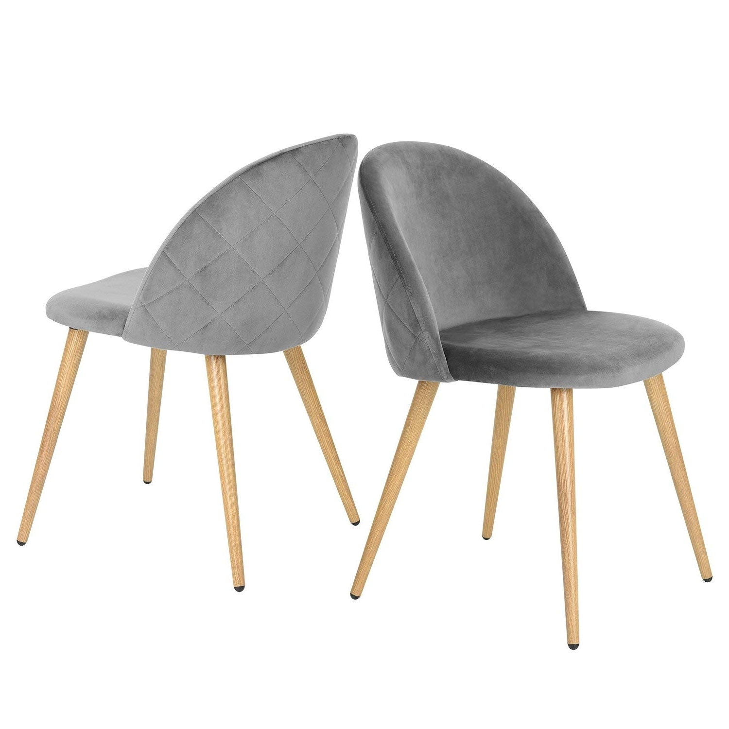 Pilo Grey Side Chairs For Well Liked Amazon: Greenforest Accent Dining Chairs Living Room, Modern (View 15 of 20)