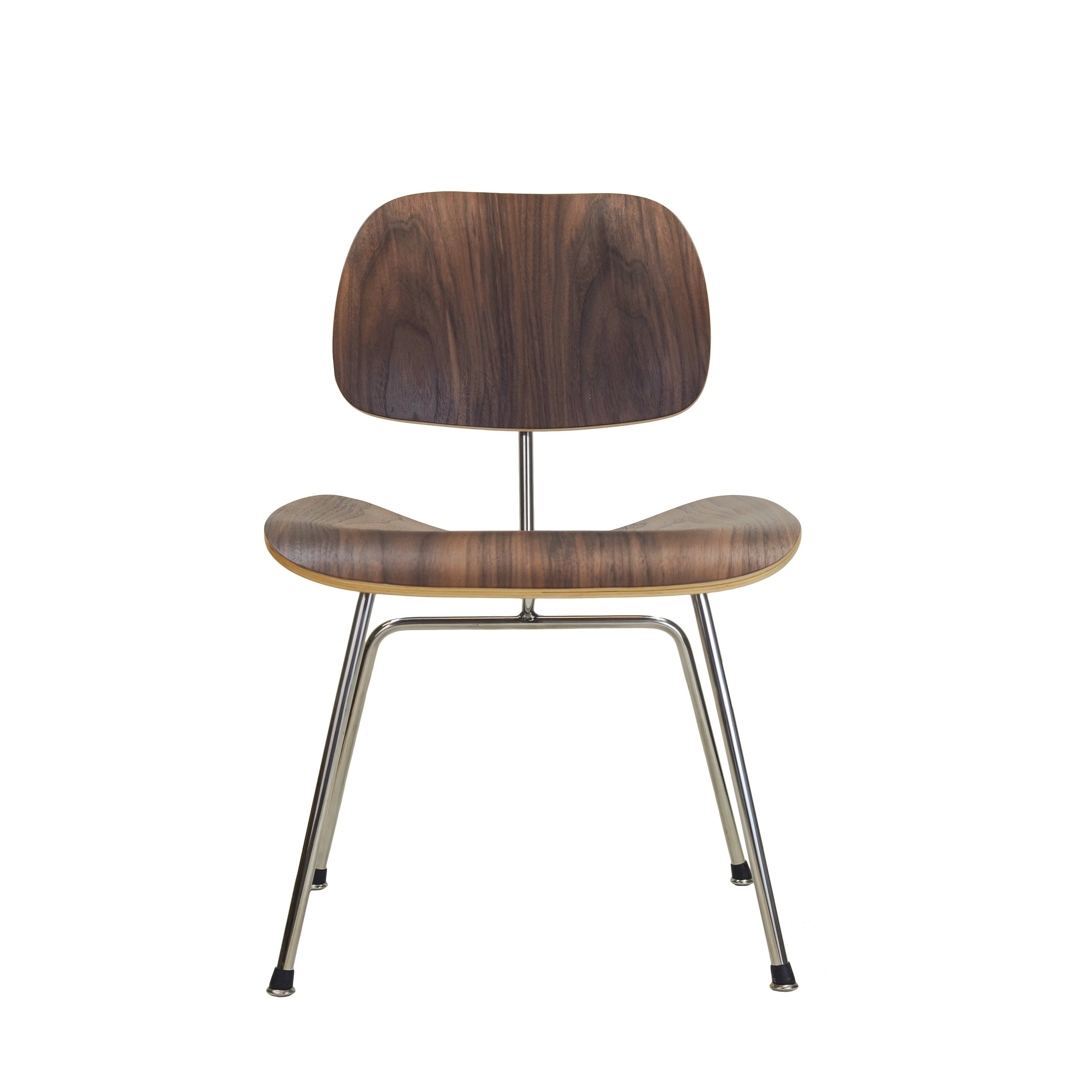 Plywood & Metal Brown Dining Chairs In Trendy Molded Plywood Dining Chair – Free Shipping Today – Overstock –  (View 12 of 20)