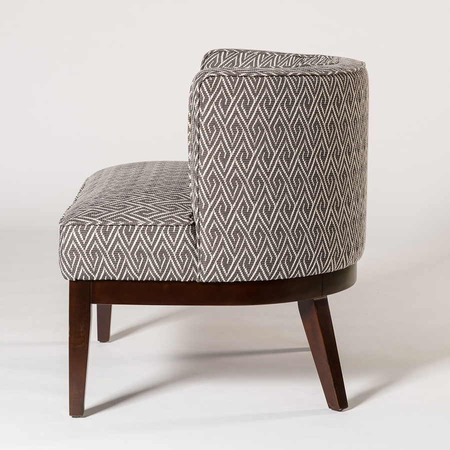 Popular Chandler Occasional Chair – Alder & Tweed Furniture In Chandler Fabric Side Chairs (View 14 of 20)