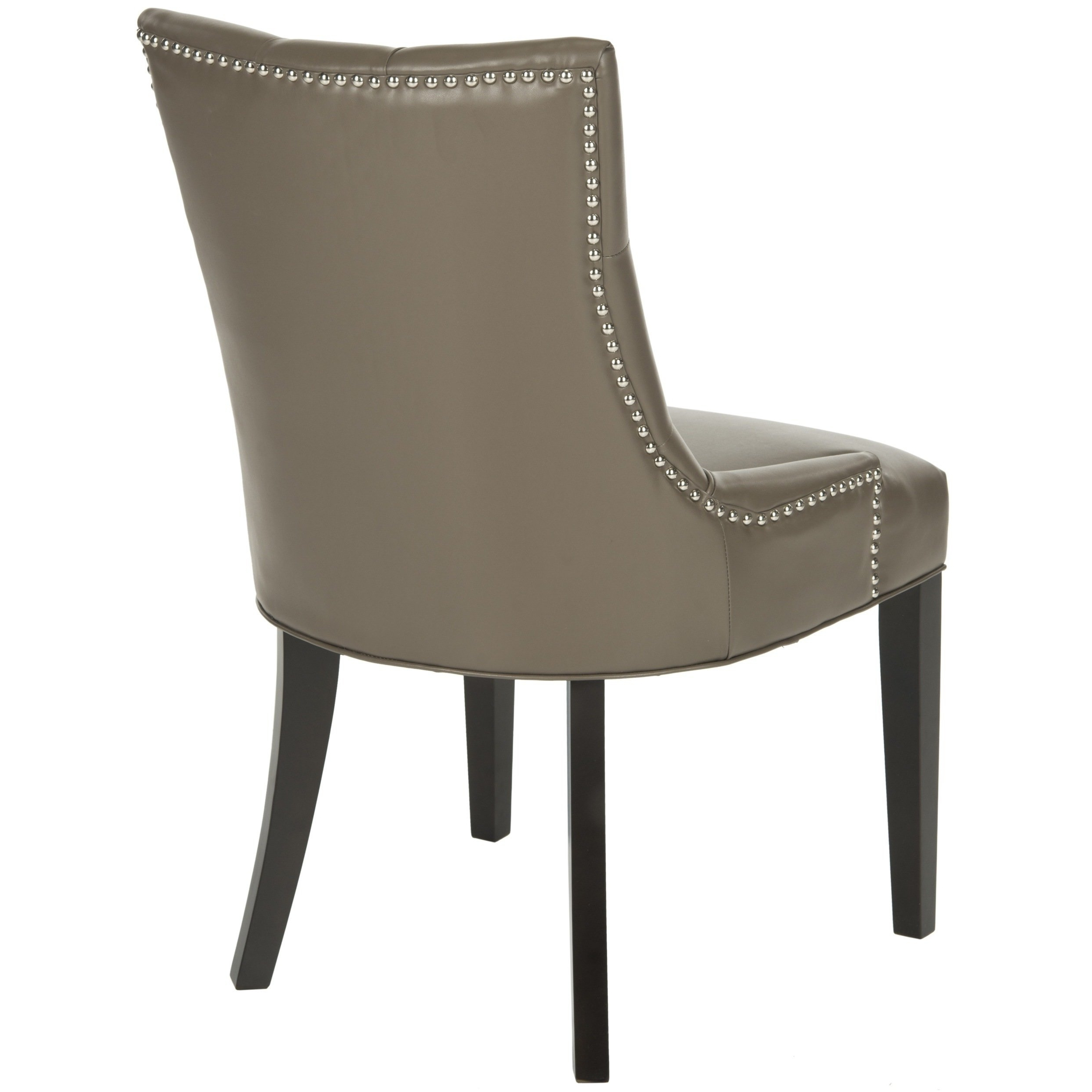 Popular Clay Side Chairs Within Shop Safavieh Abby Clay Leather Dining Chairs (Set Of 2) – Free (View 14 of 20)