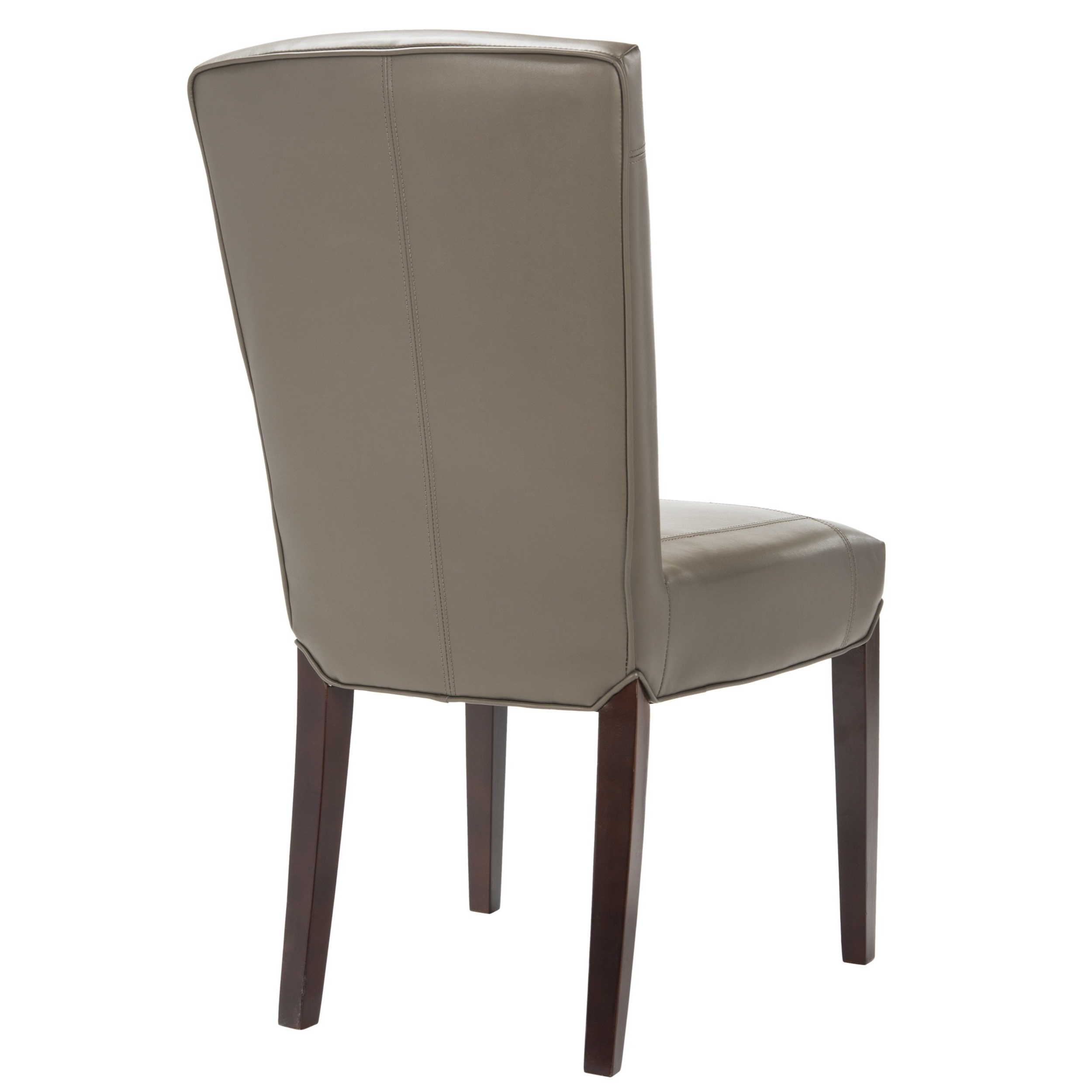 Popular Shop Safavieh Parsons Dining Bowery Brown Clay Leather Dining Chairs For Bowery Ii Side Chairs (View 5 of 20)