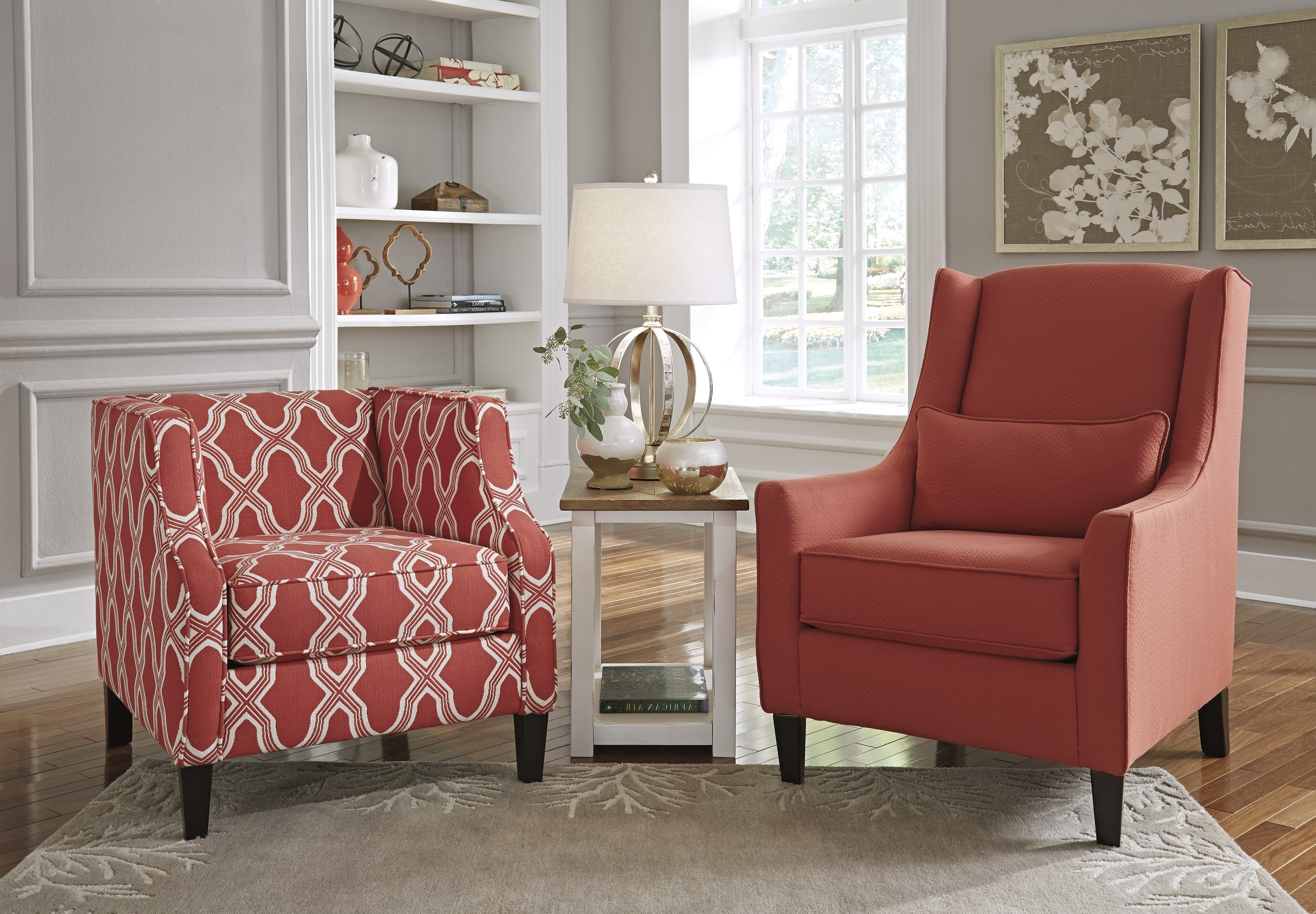 Preferred Buy Sansimeon Coral Accent Chairbenchcraft From Www (View 12 of 20)