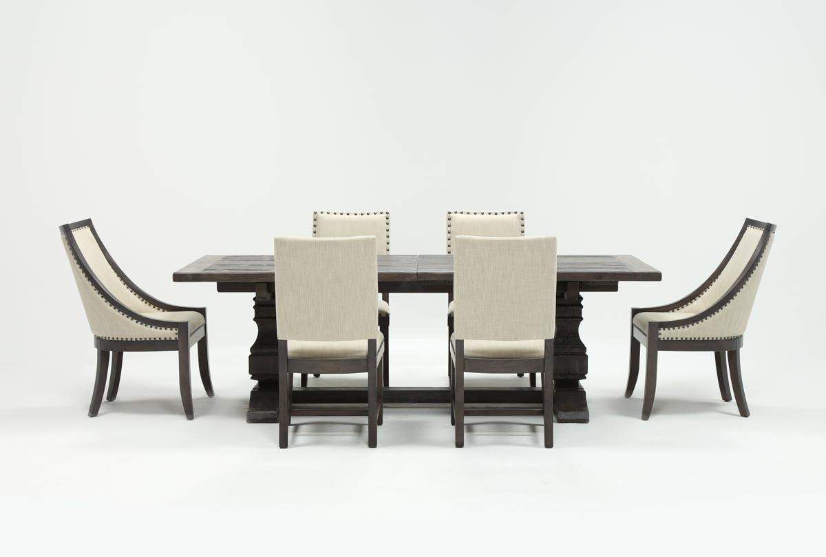 Preferred Candice Ii Slat Back Host Chairs With Regard To Norwood 7 Piece Rectangle Extension Dining Set (View 3 of 20)