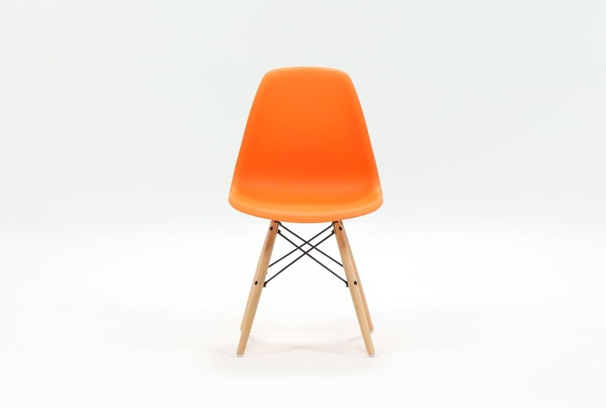 Featured Photo of Cole Ii Orange Side Chairs