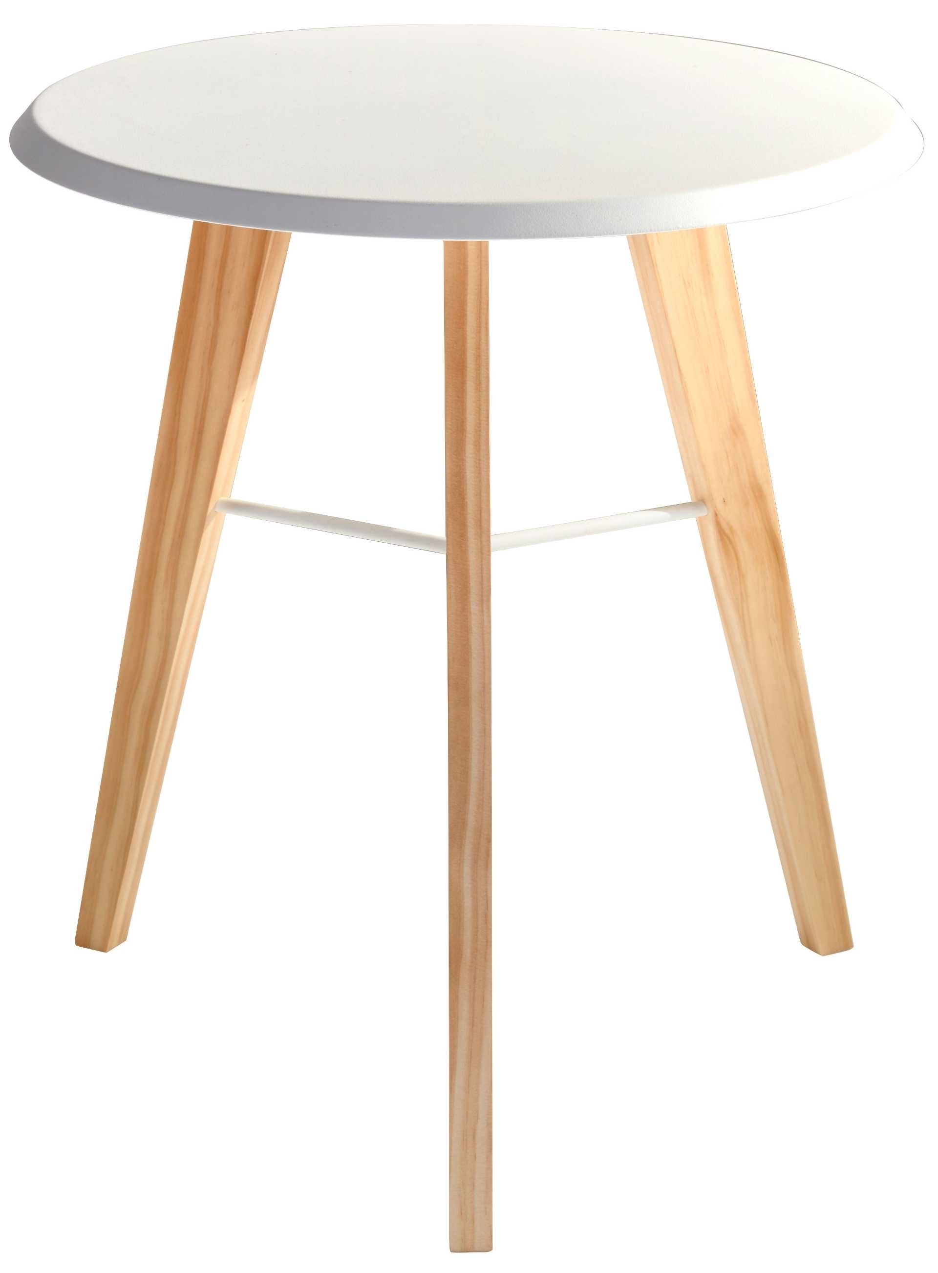 Preferred Jaxon Wood Side Chairs Pertaining To Jaxon Accent Table (white/natural)adesso Furniture (View 20 of 20)