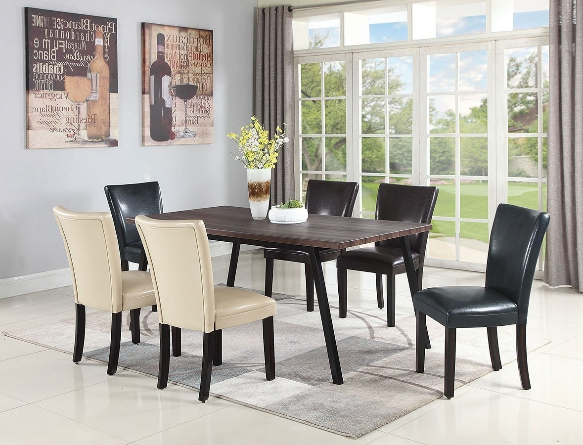 Preferred Jefferson Dining Room Set W/ Chair Choices – Dining Room And Kitchen With Regard To Pinot Side Chairs (View 14 of 20)