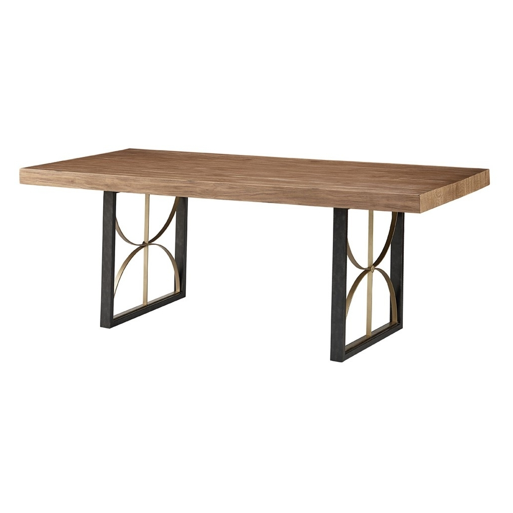 Preferred Proximity Dining Table – Double Pedestal – Magnolia Home (View 15 of 20)