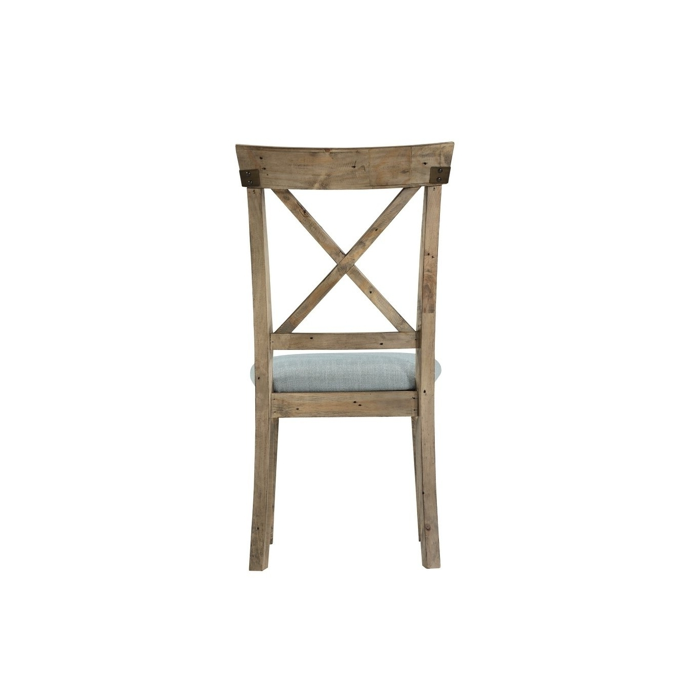 Preferred Shop Emerald Home Valencia Cross Back Upholstered Seat Dining Chair In Valencia Side Chairs With Upholstered Seat (View 12 of 20)