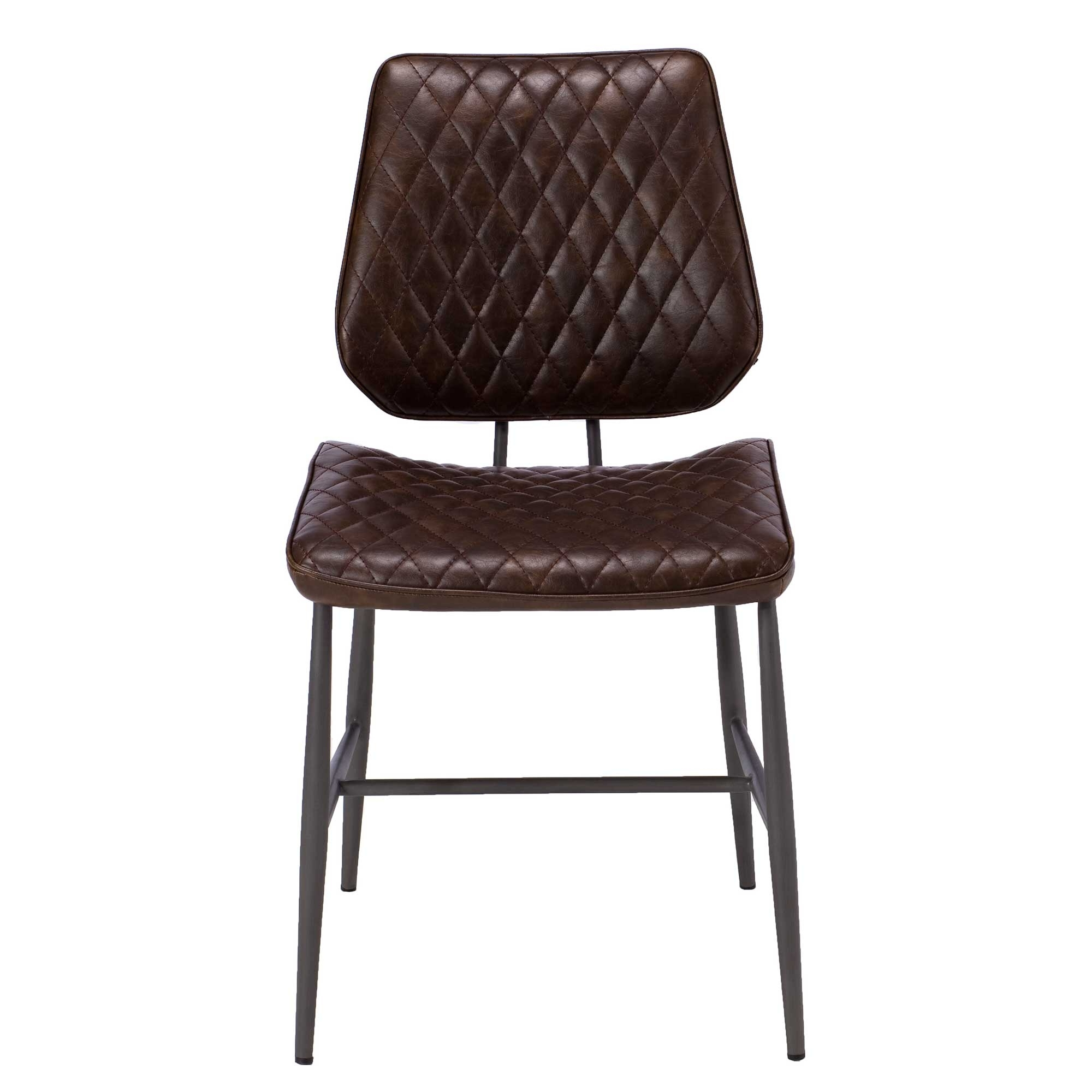 Featured Photo of Quilted Brown Dining Chairs