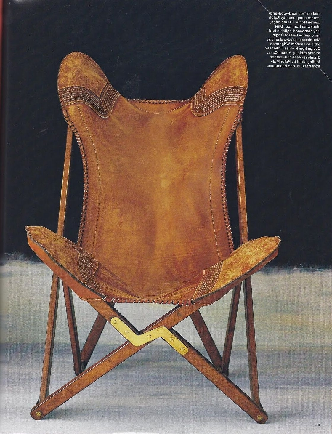 Ralph Lauren Joshua Tree Camp Chair Picture Speaks For Itself–Just In Well Known Laurent Upholstered Side Chairs (Gallery 5 of 20)