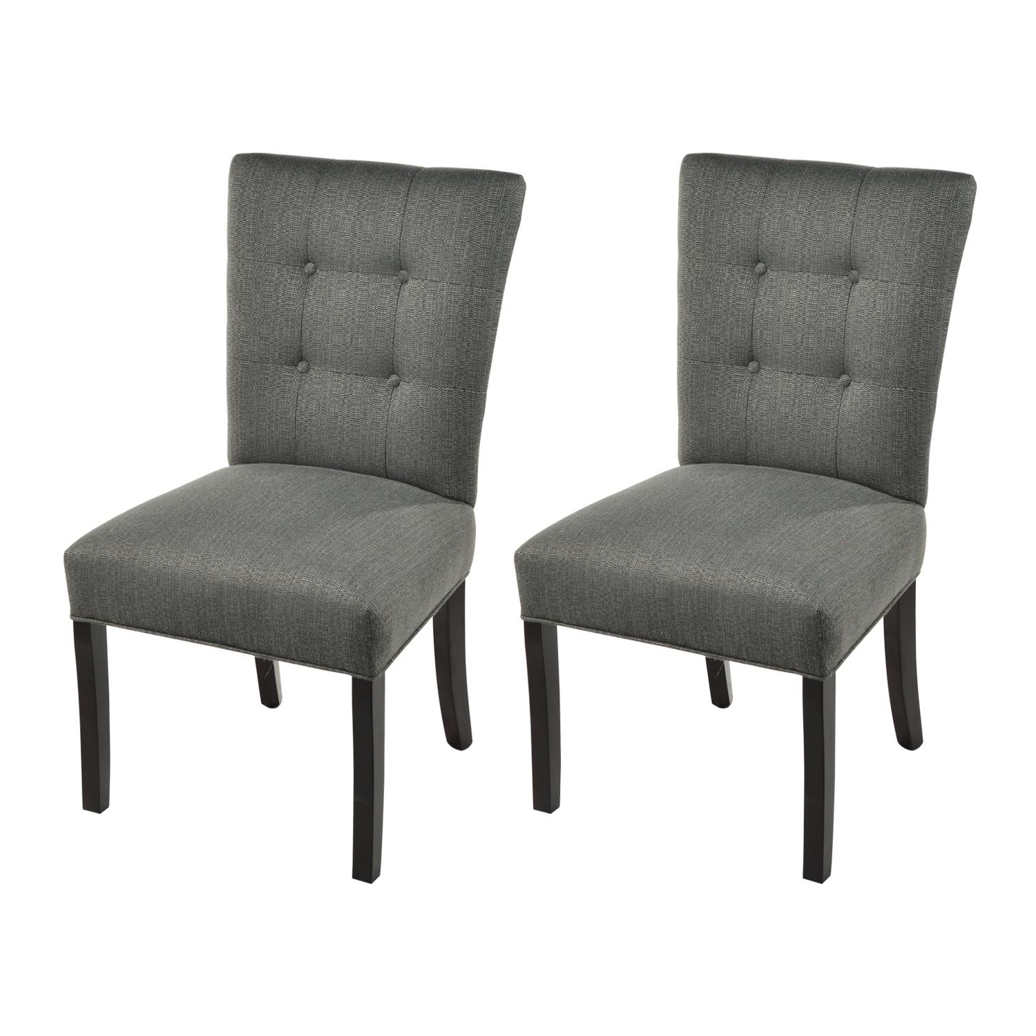 Recent Amazon – Sole Designs La Mode Collection Fanback Dining Chair, 4 Intended For Candice Ii Upholstered Side Chairs (View 8 of 20)