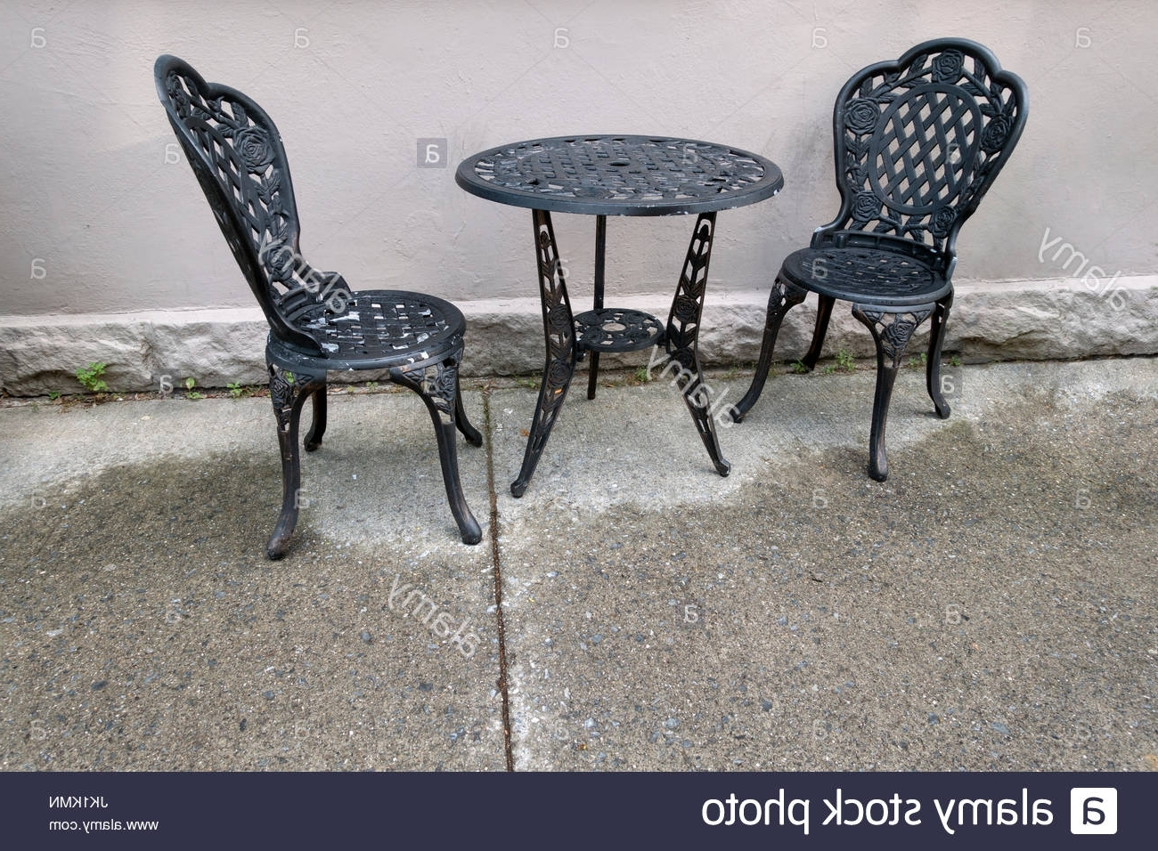 Recent Cast Iron Chairs Stock Photos & Cast Iron Chairs Stock Images – Alamy Within Chapleau Ii Side Chairs (View 19 of 20)