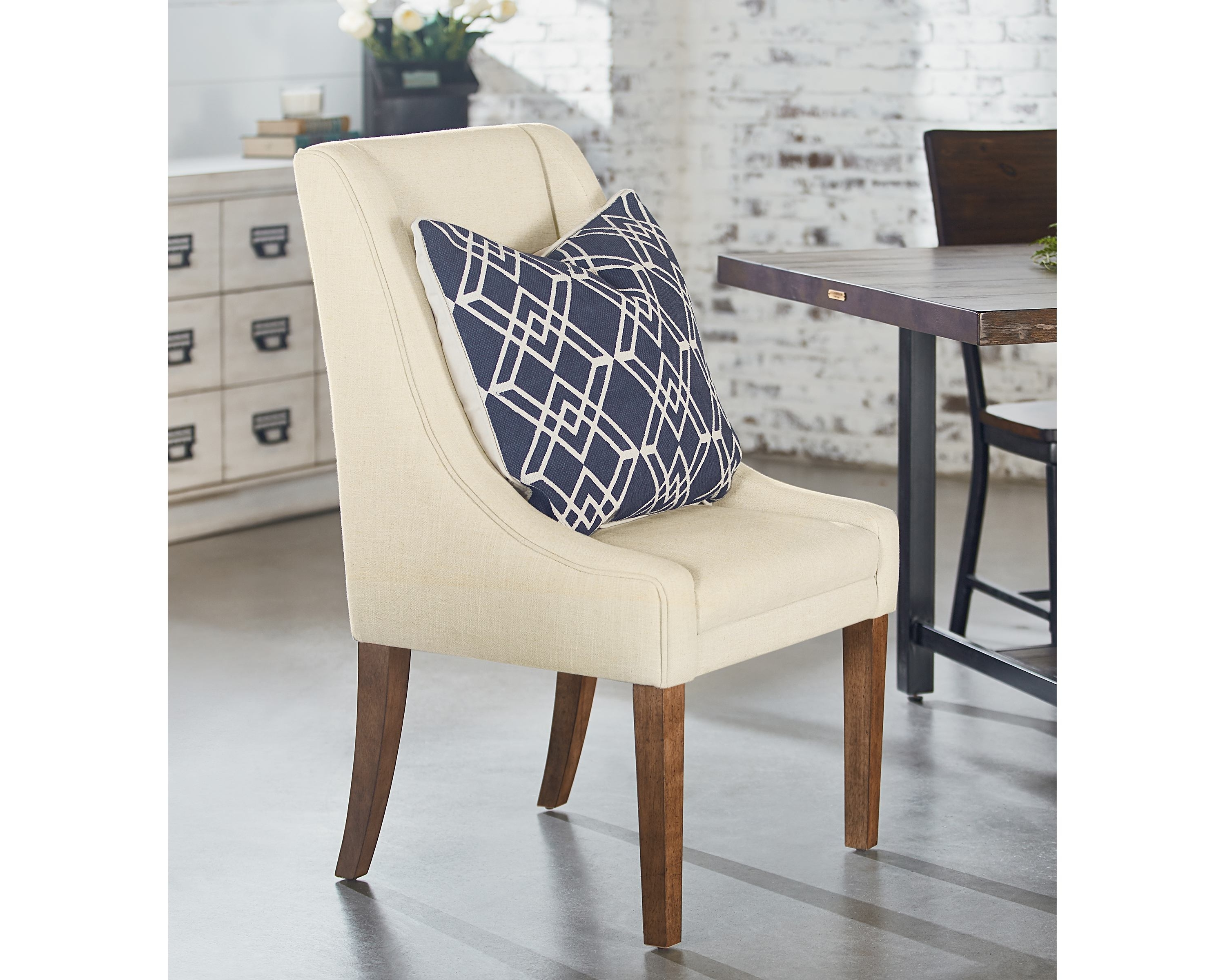 Recent Demi Wing Side Chair – Magnolia Home Throughout Magnolia Home Demi Flannel Wing Side Chairs (View 15 of 20)