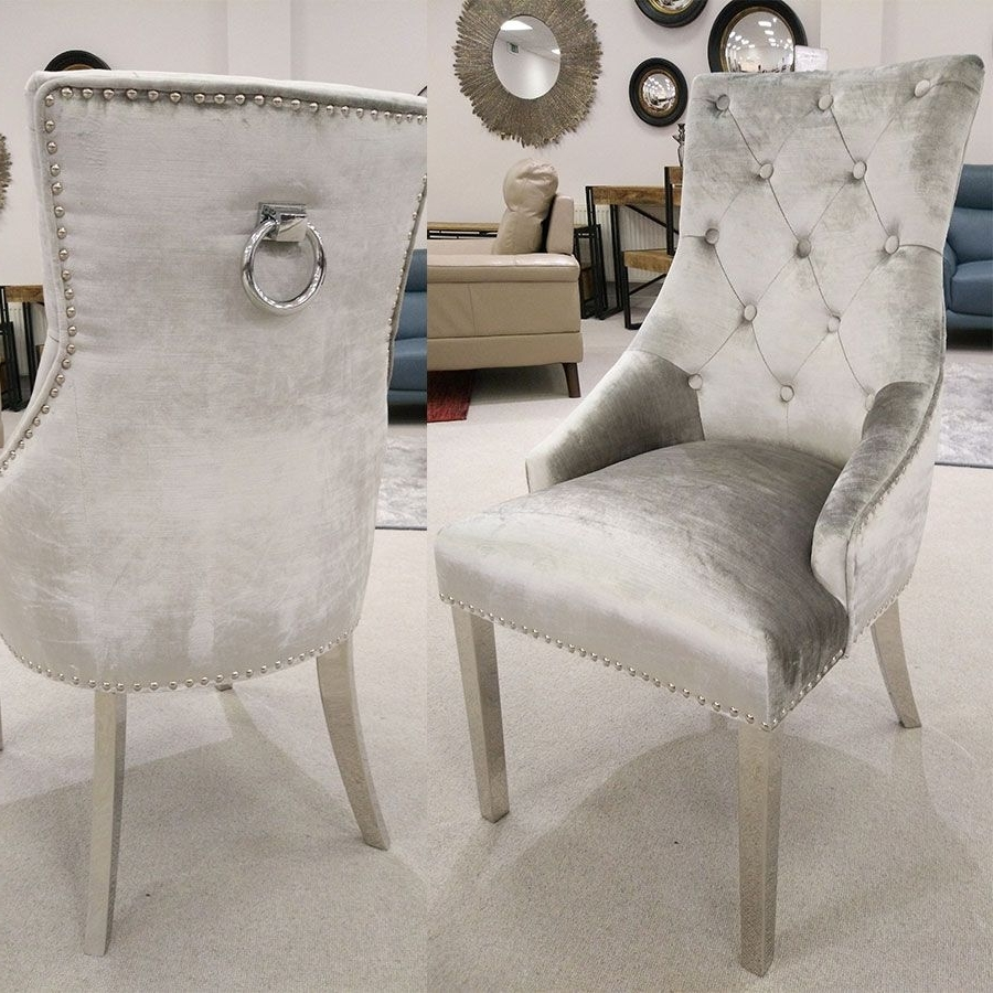 Recent Garten Marble Skirted Side Chairs Set Of 2 For Vida Living Arianna Grey Marble Dining Set (Gallery 12 of 20)