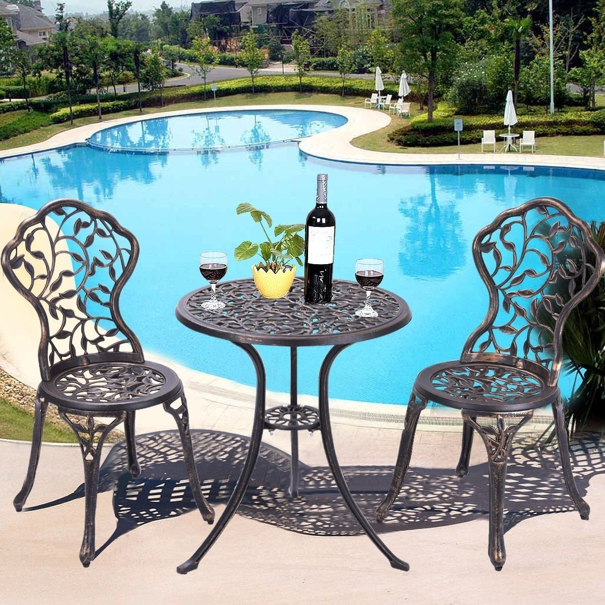 Recent Garten Storm Chairs With Espresso Finish Set Of 2 For Best Rated In Patio Furniture Sets & Helpful Customer Reviews (View 19 of 20)