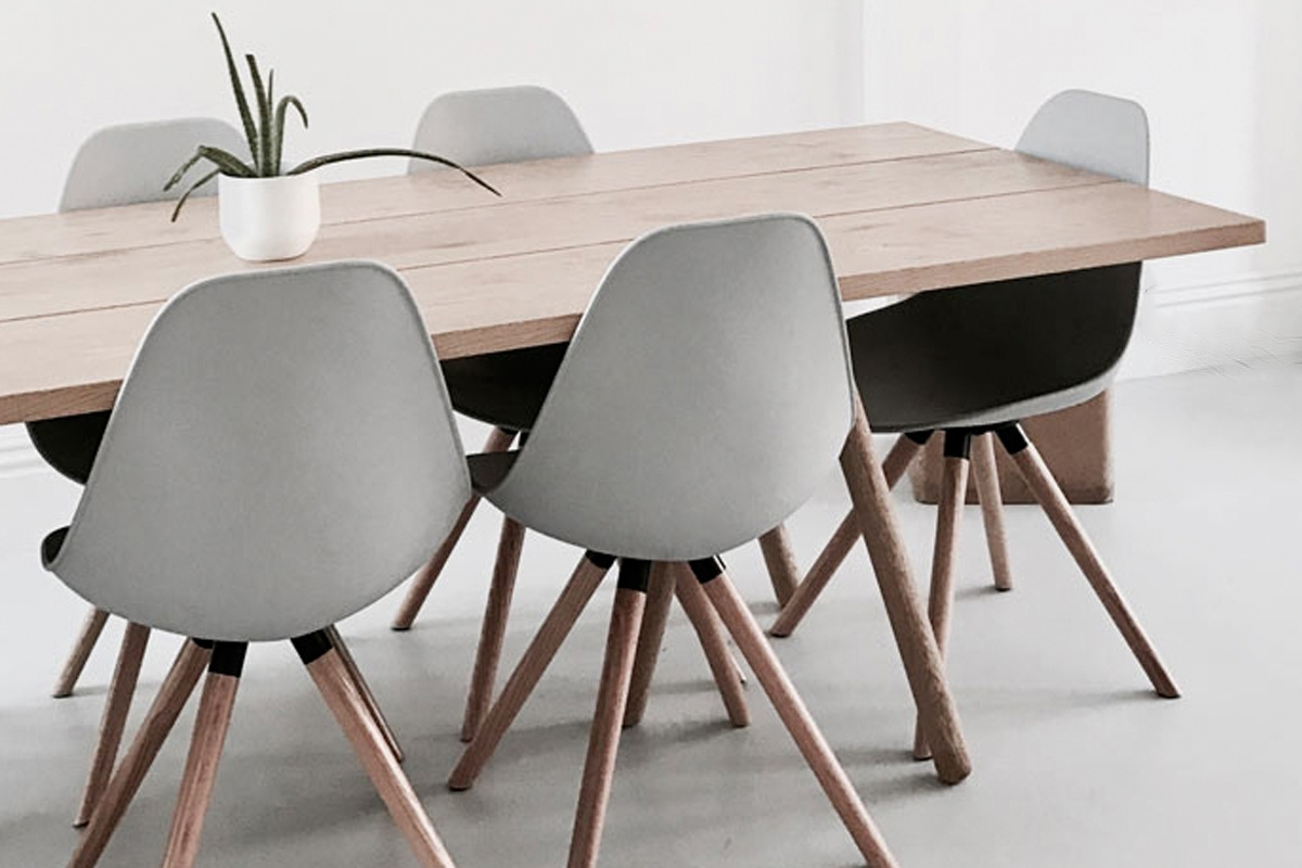 Recent How To Quickly Update Your Dining Room With Regard To Moda Grey Side Chairs (Gallery 7 of 20)