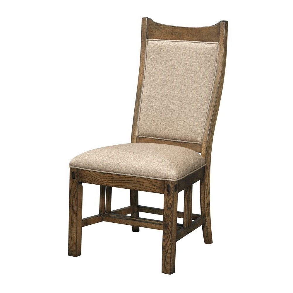 Featured Photo of Craftsman Upholstered Side Chairs