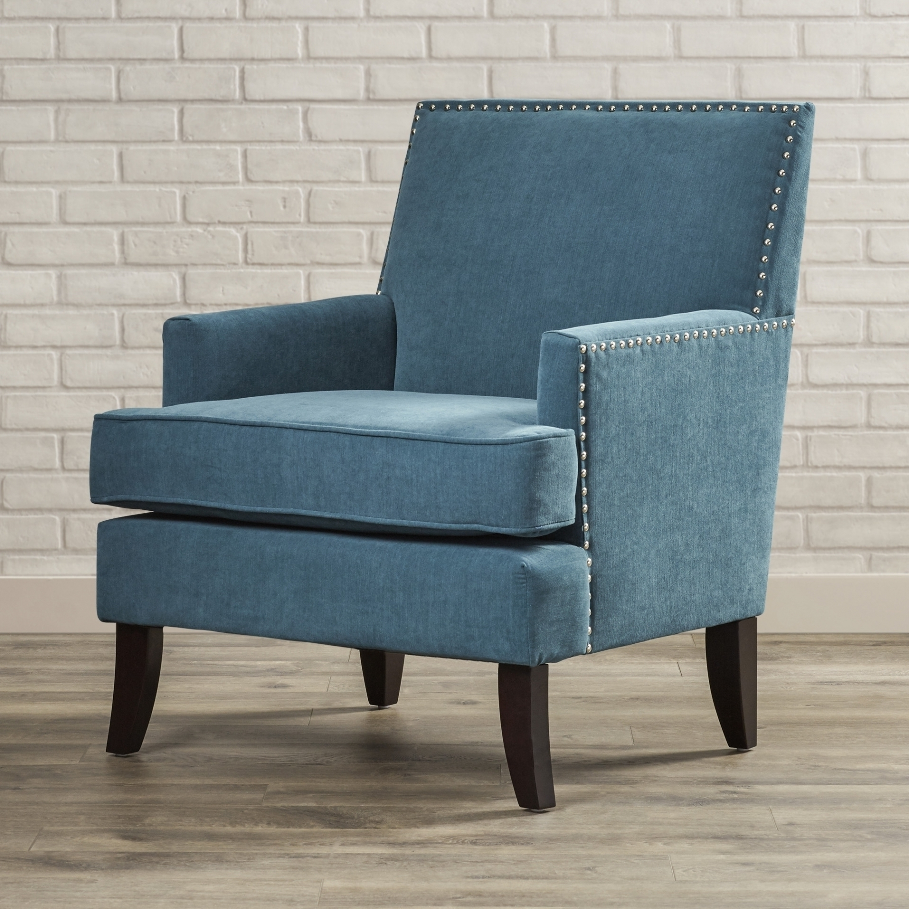 Recent Light Blue Accent Chair And Green Room — The Home Redesign For Nautical Blue Side Chairs (View 2 of 20)
