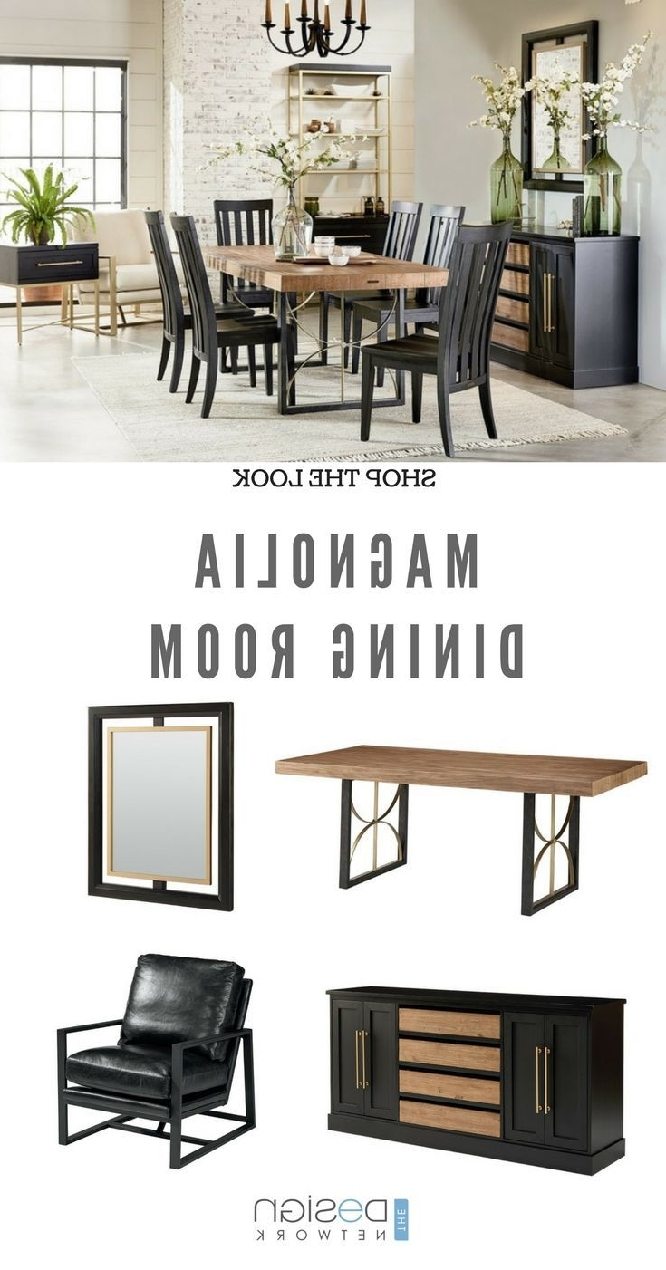 Recent Shop The Look: Magnolia Dining Room (View 15 of 20)