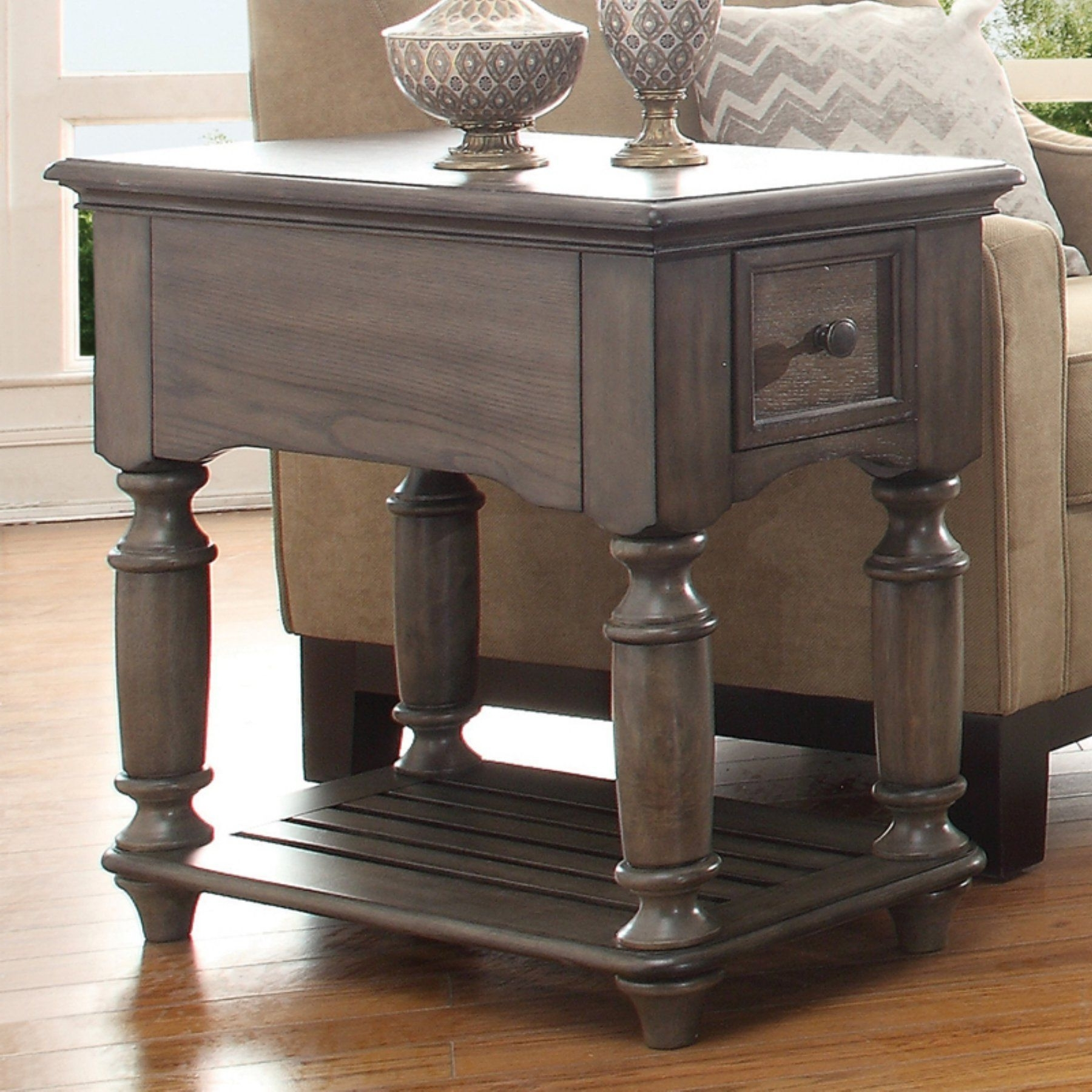 Riverside Furniture Belmeade Chair Side Table –  (View 17 of 20)
